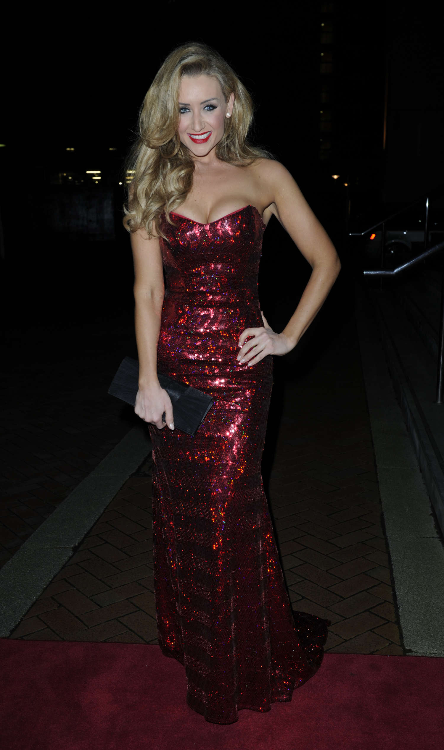 Catherine Tyldesley The Mirror Ball in Manchester