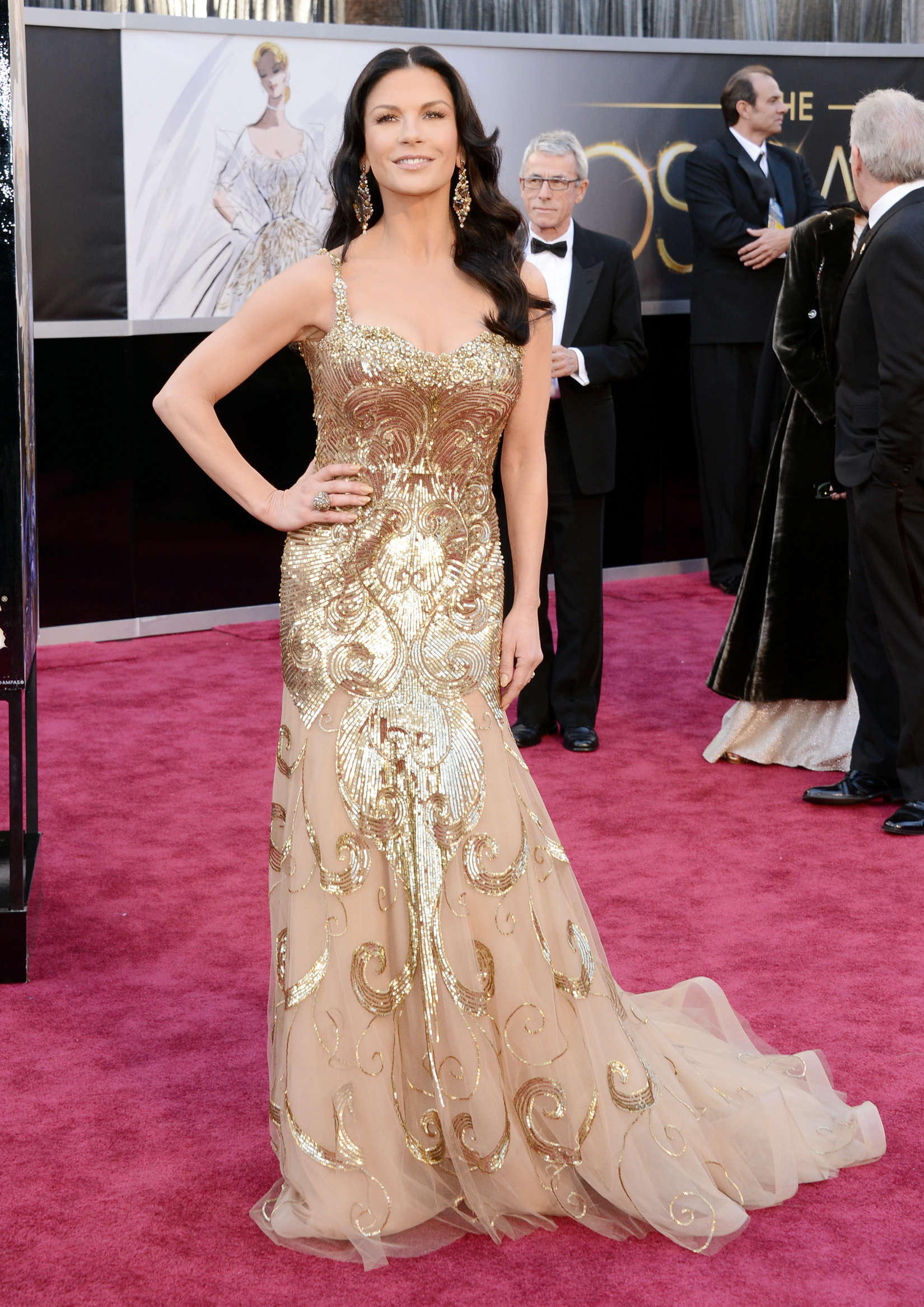 Catherine Zeta Jones Annual Academy Awards