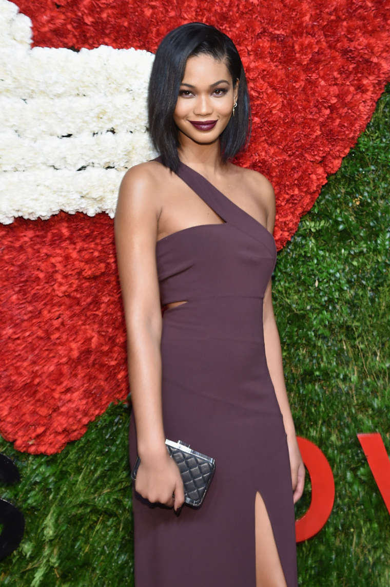 Chanel Iman Gods Love We Deliver Golden Heart Awards in New York