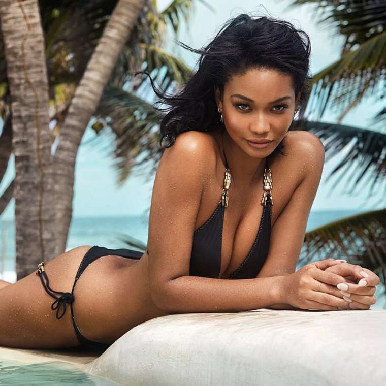 Chanel Iman GQ South Africa Magazine