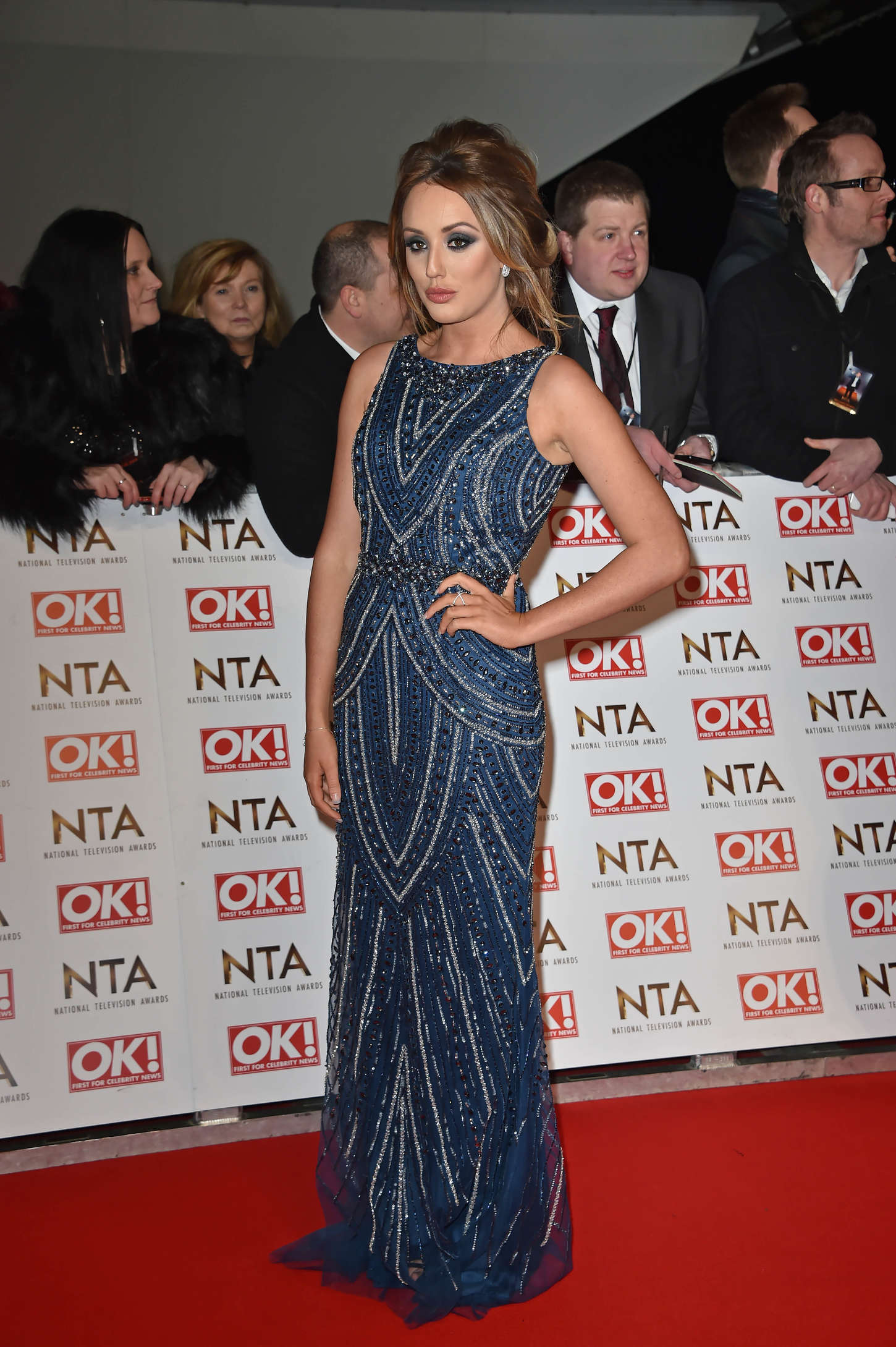 Charlotte Crosby National Television Awards in London