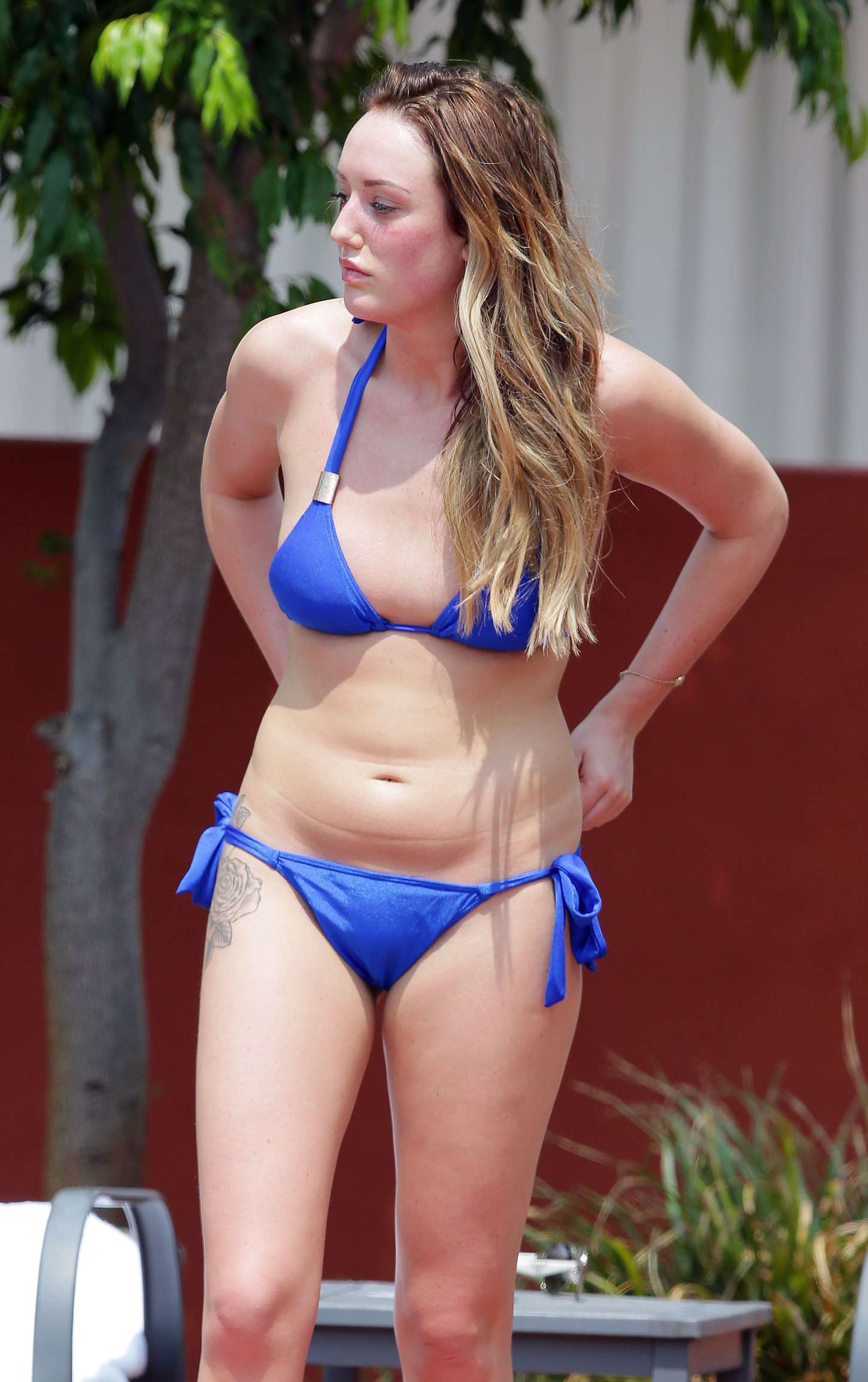 Charlotte Crosby Wearing Bikini in Australia