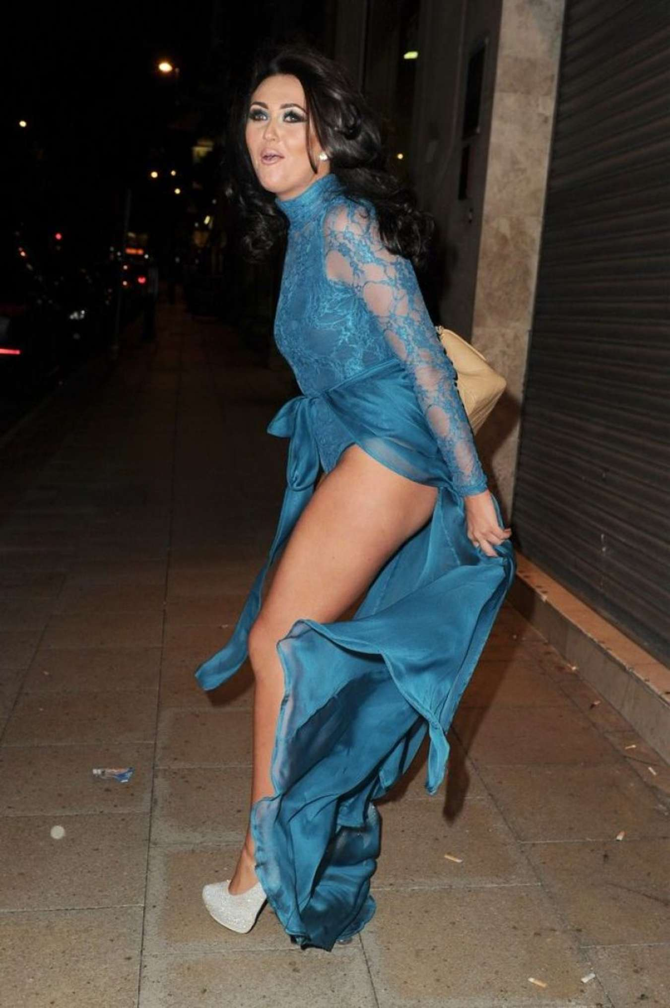 Charlotte Dawson Blue Hues Summer Evening of Style in Manchester