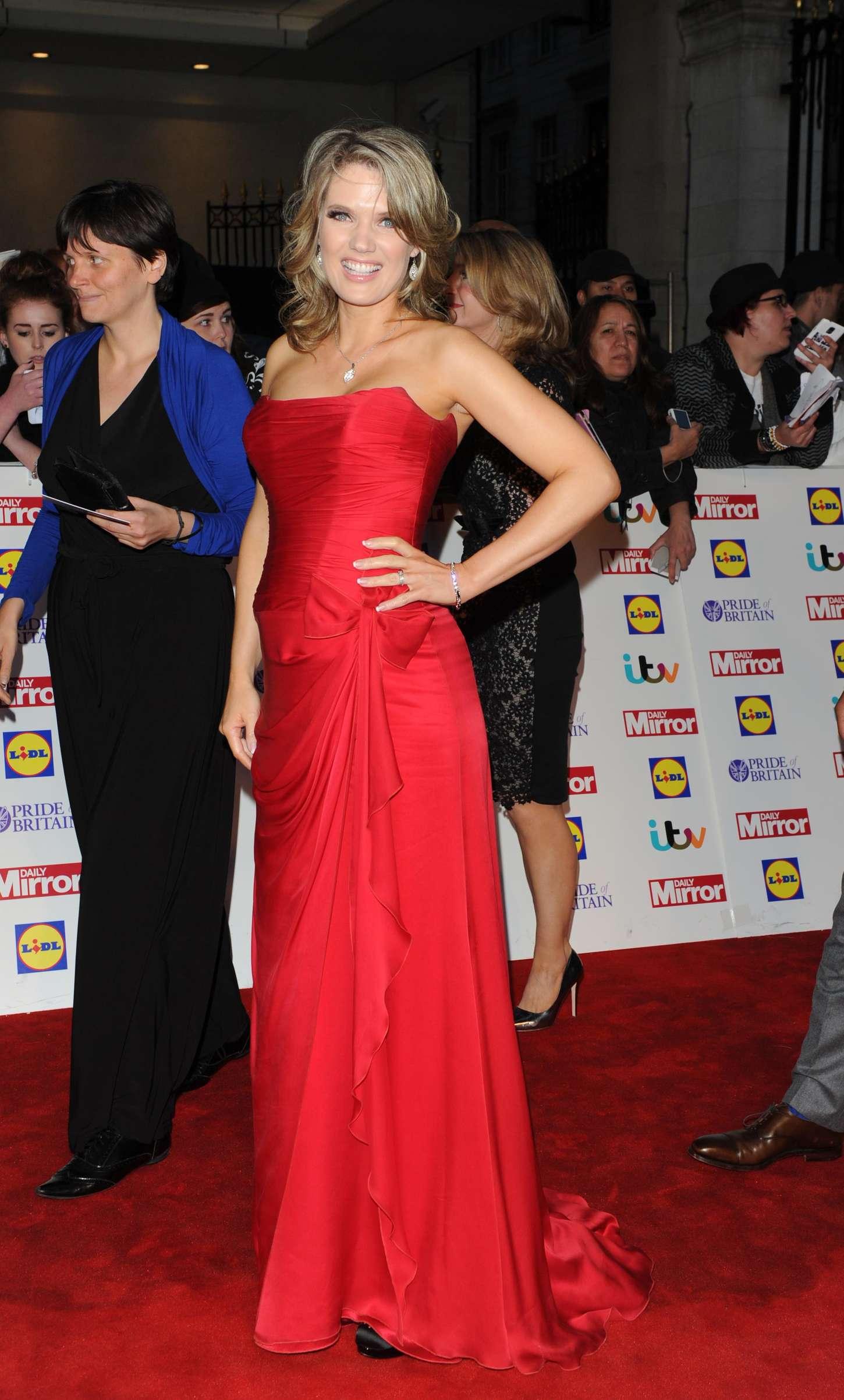 Charlotte Hawkins Pride of Britain Awards in London