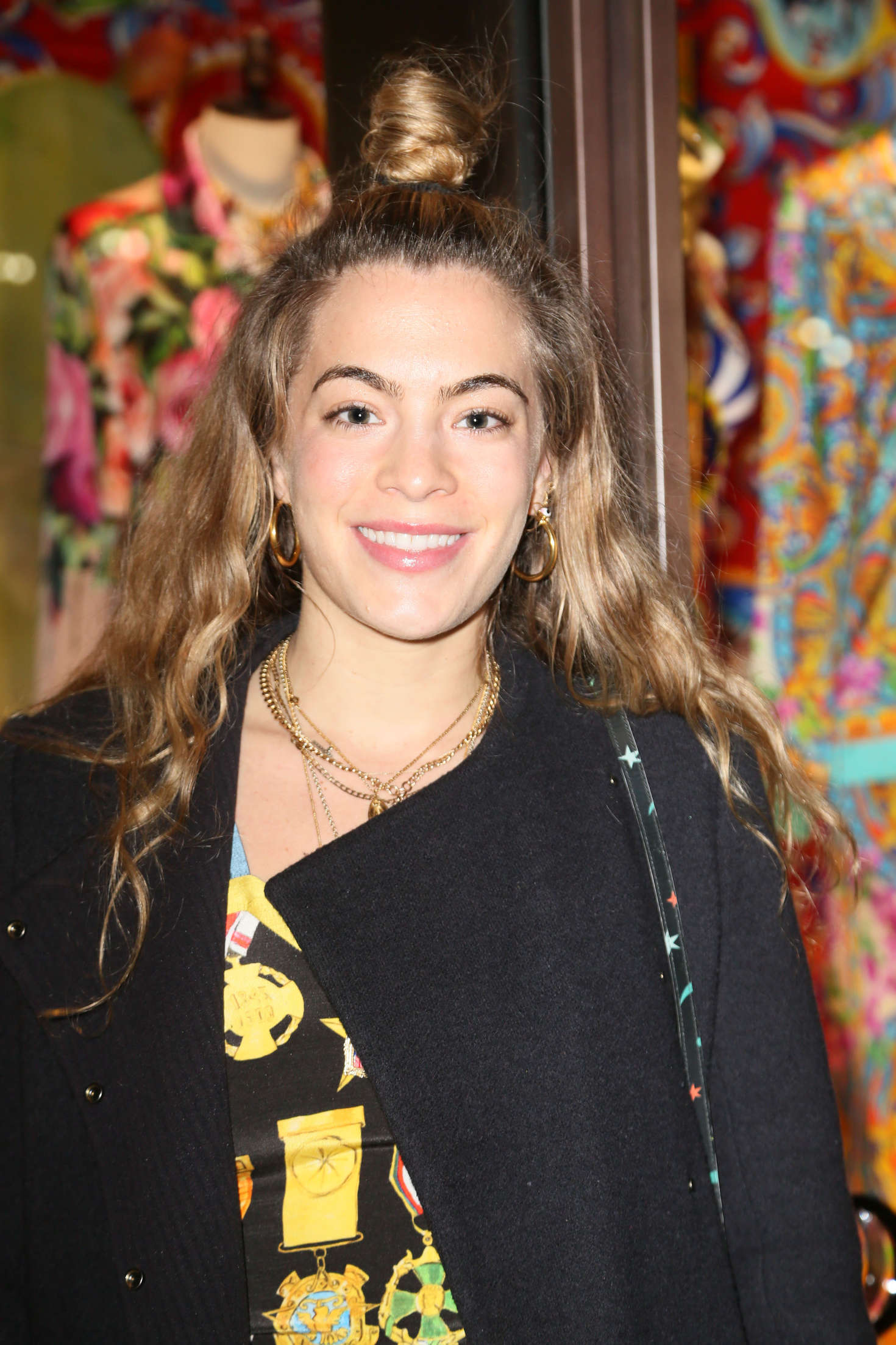 Chelsea Leyland The Dolce and Gabbana Pyjama Party in New York