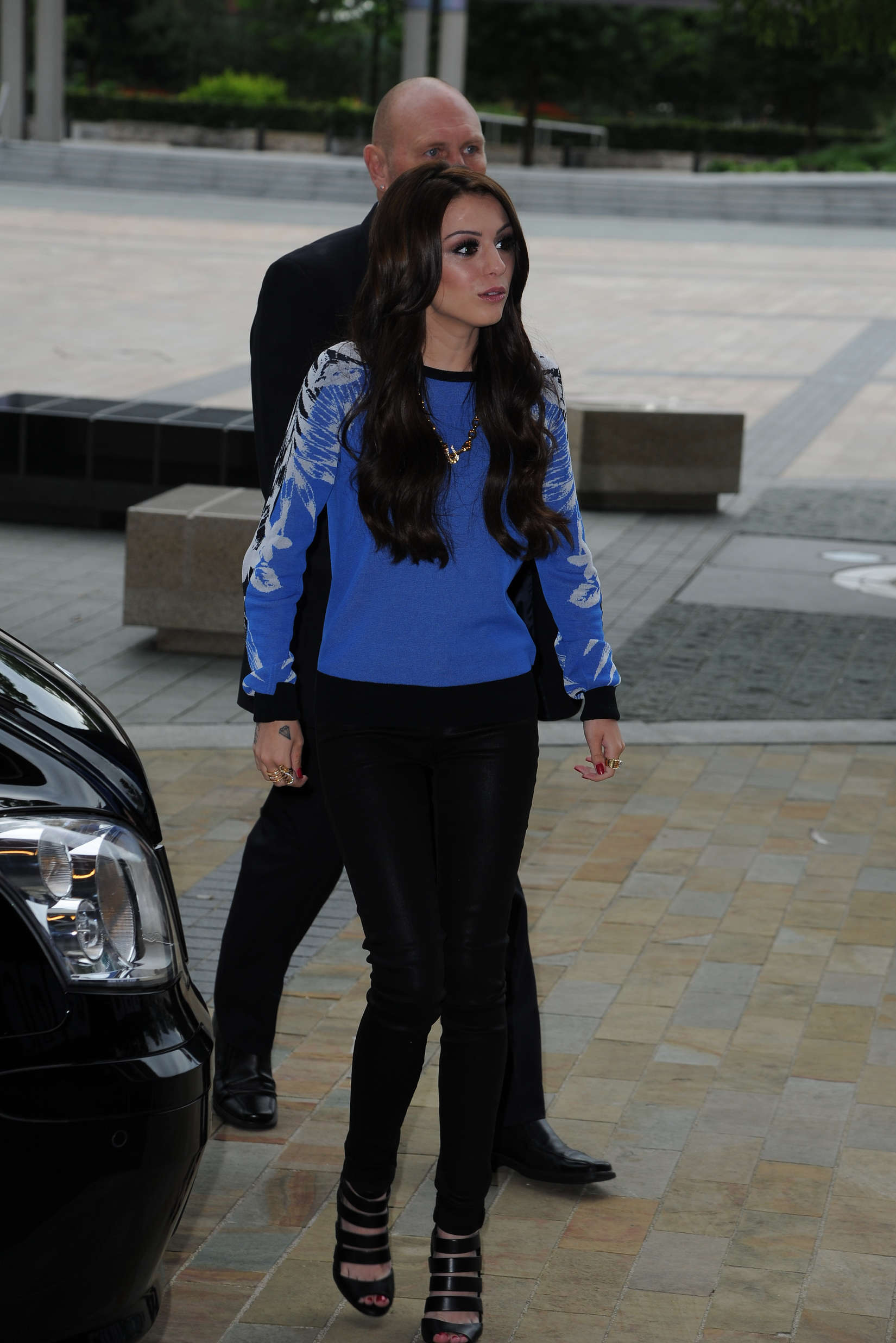 Cher Lloyd go out in Manchester