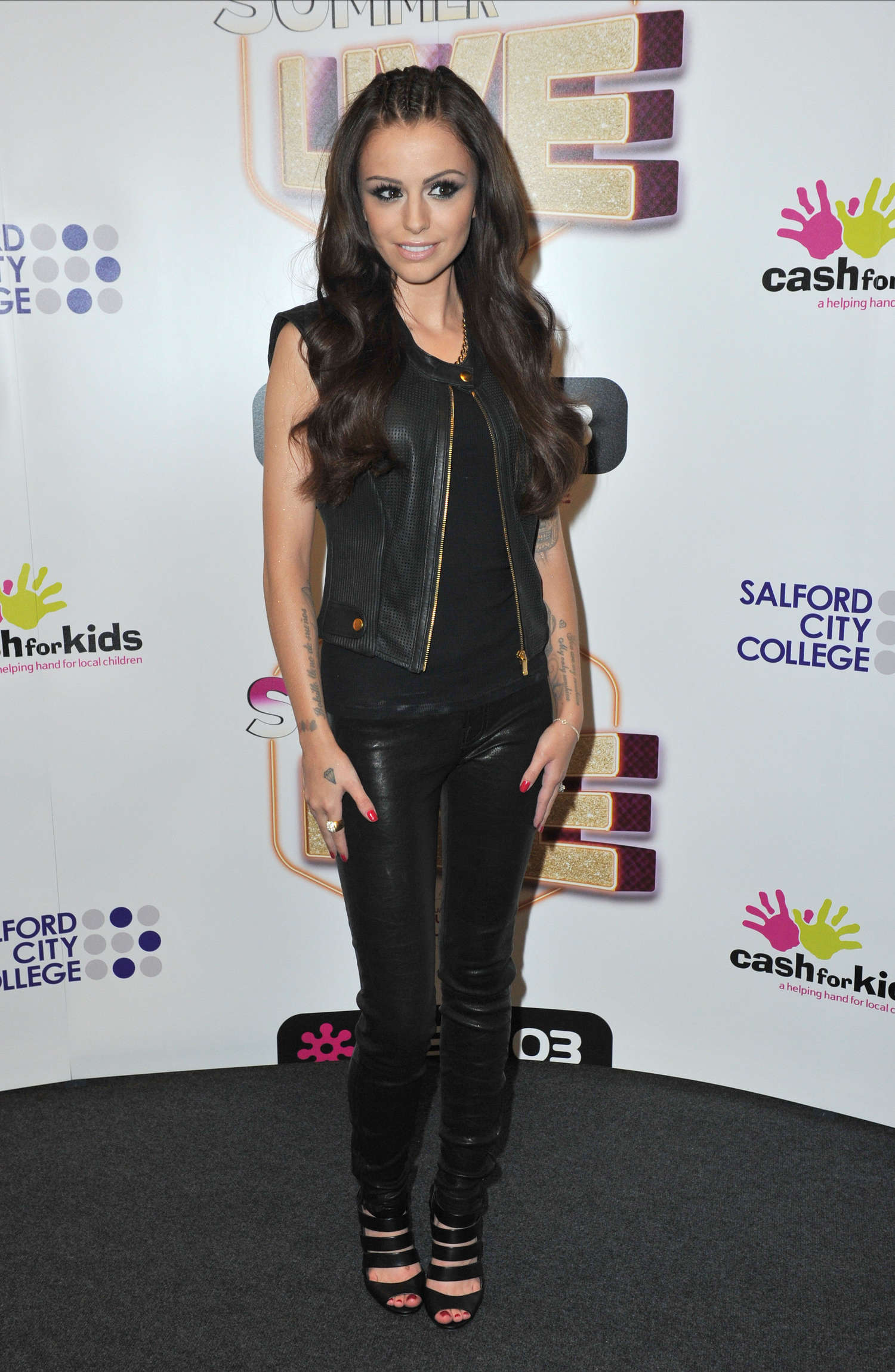Cher Lloyd Prerforms Live at Key Summer Concert in Manchester