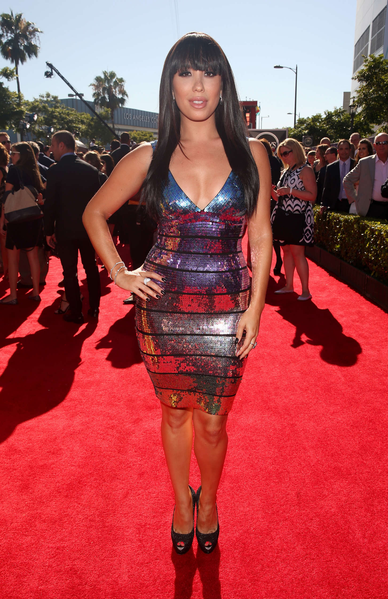 Cheryl Burke The Espy Awards in Los Angeles