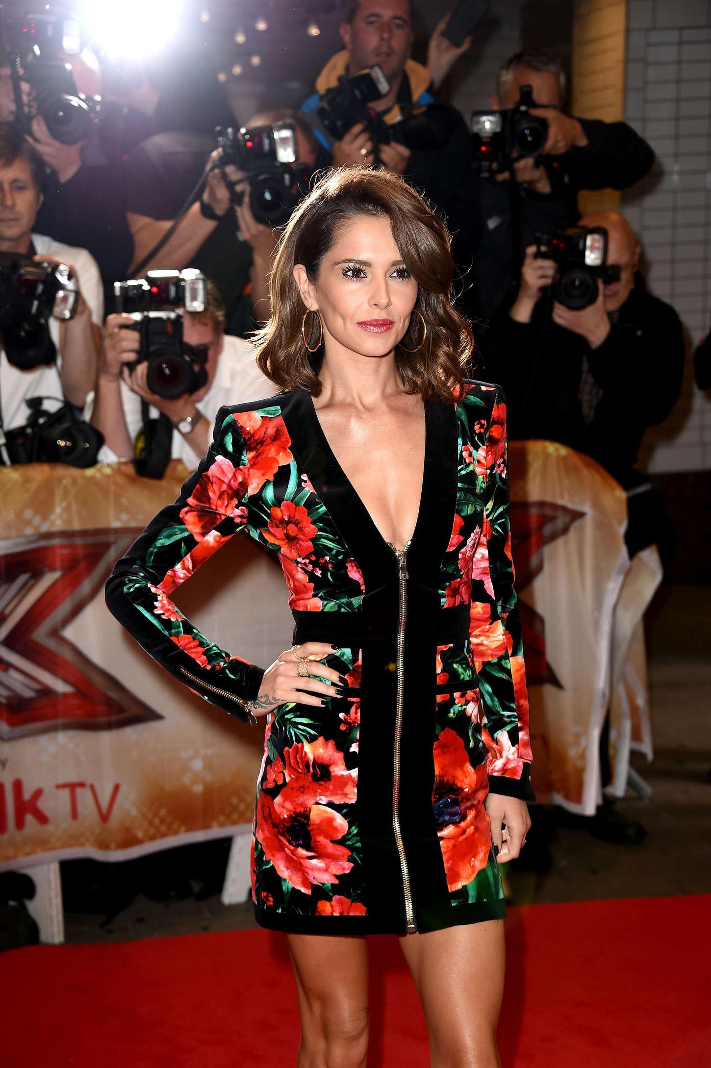Cheryl Fernandez-Versini The X Factor Press Launch in London