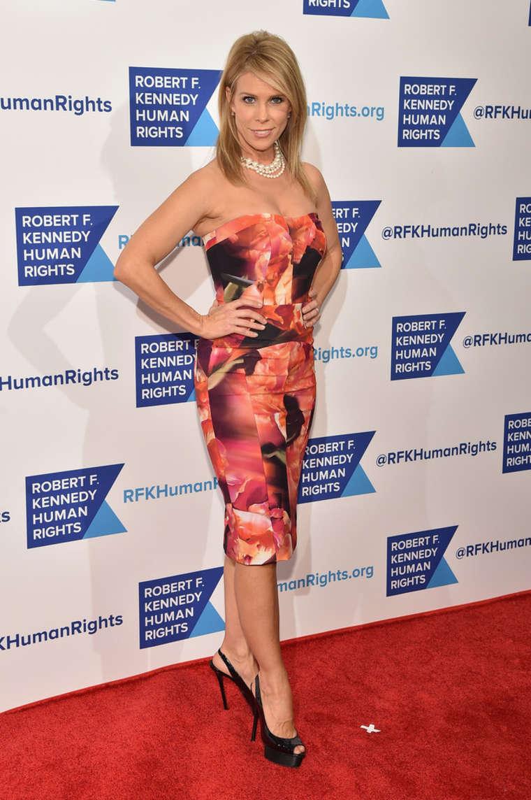 Cheryl Hines RFK Ripple Of Hope Gala in New York