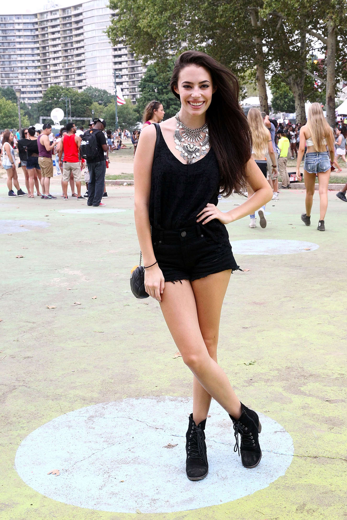 Chloe Bridges Budweiser Made In America Festival