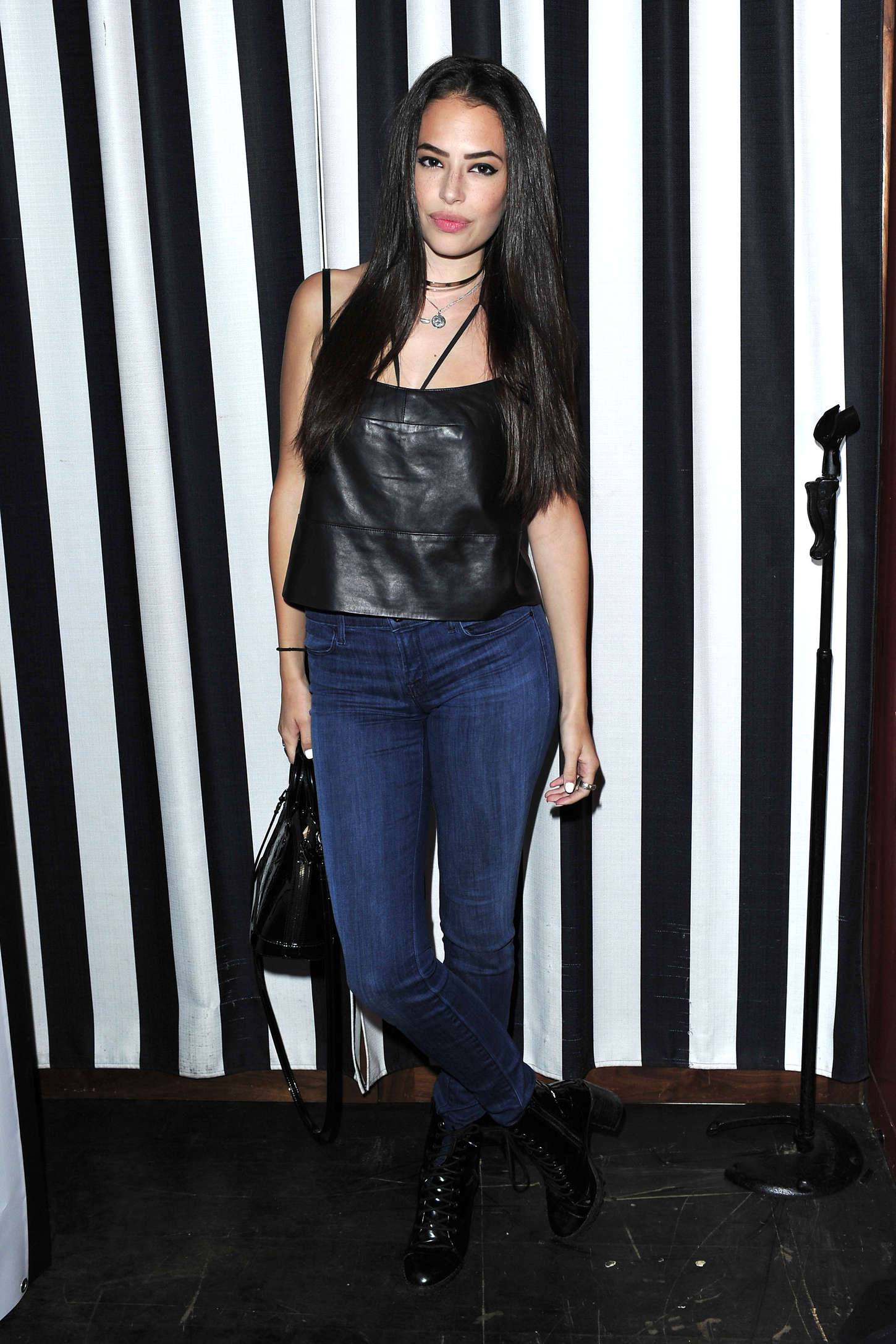Chloe Bridges POPULAR TV Celebrates Denim Hunters in Beverly Hills