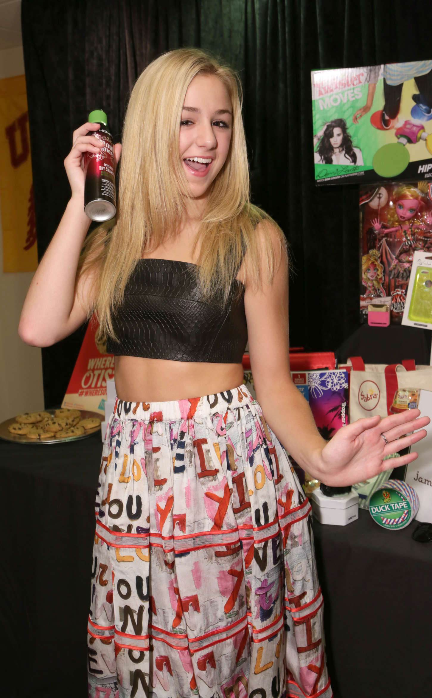 Chloe Lukasiak Backstage Creations Retreat Teen Choice Day in Los Angeles