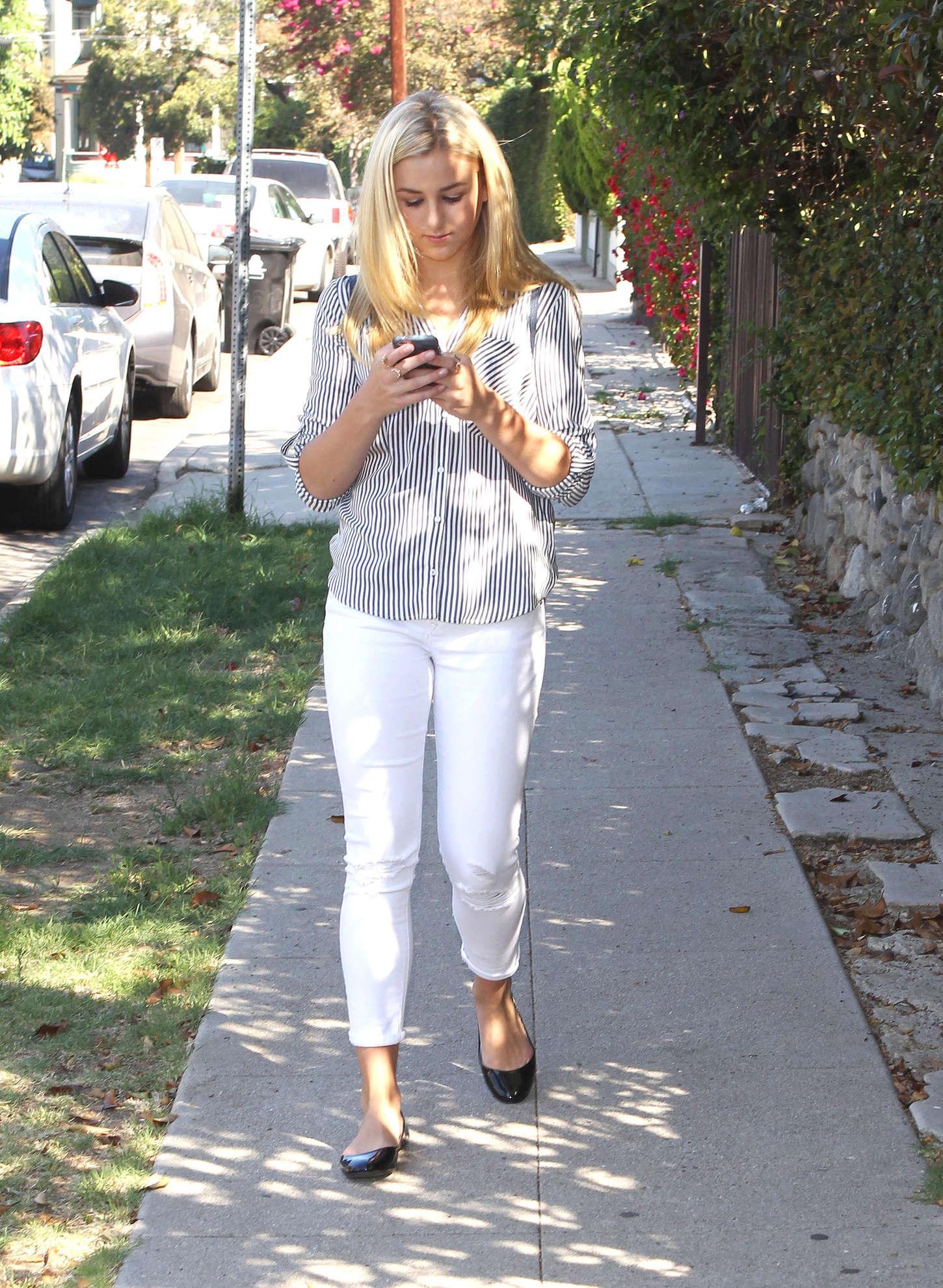 Chloe Lukasiak go out in Los Angeles