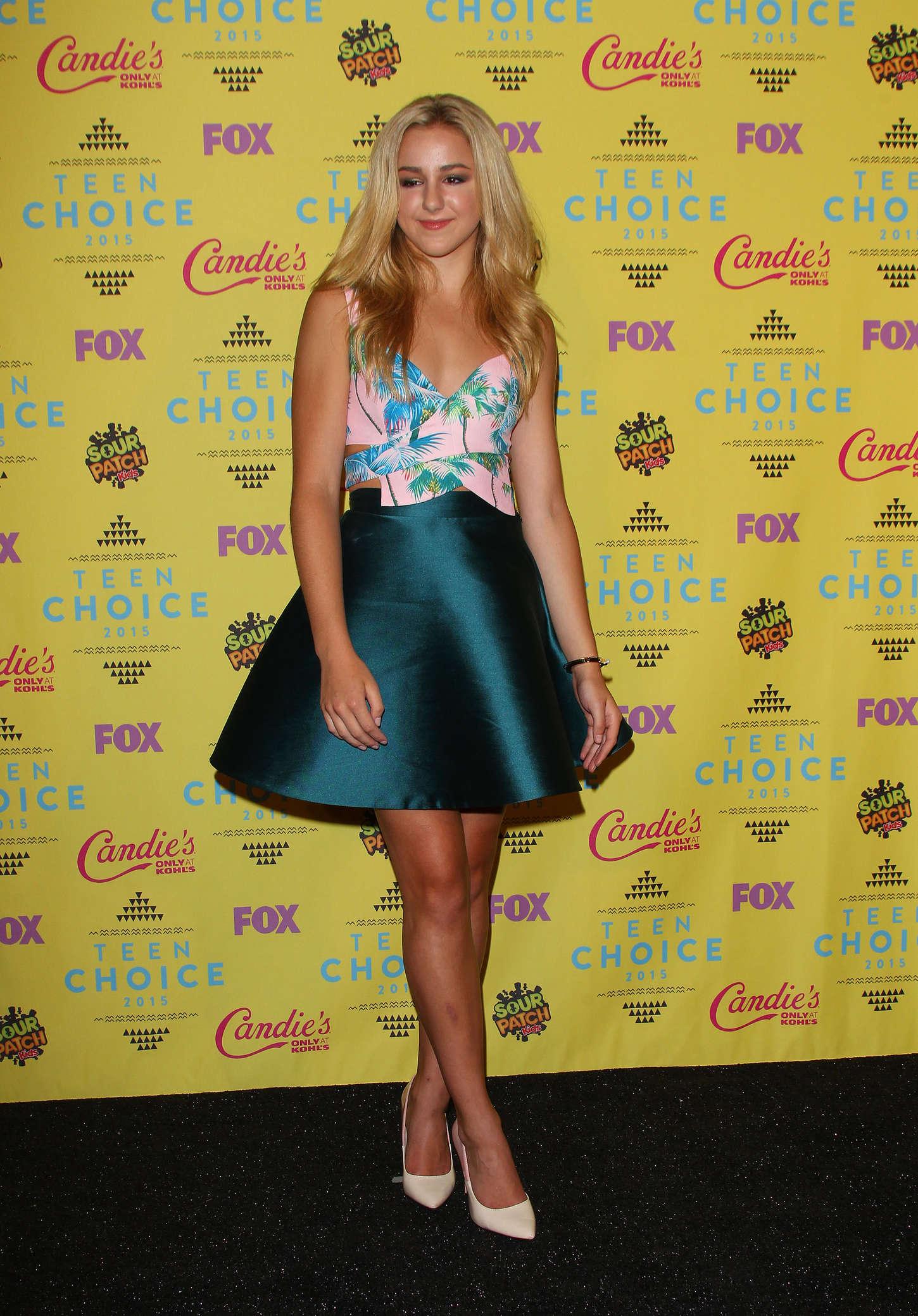 Chloe Lukasiak Teen Choice Awards in Los Angeles