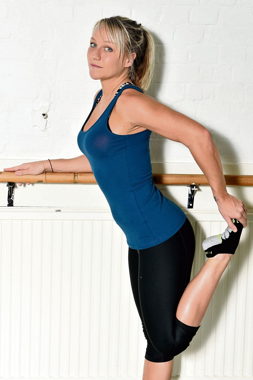 Chloe Madeley in tight workout