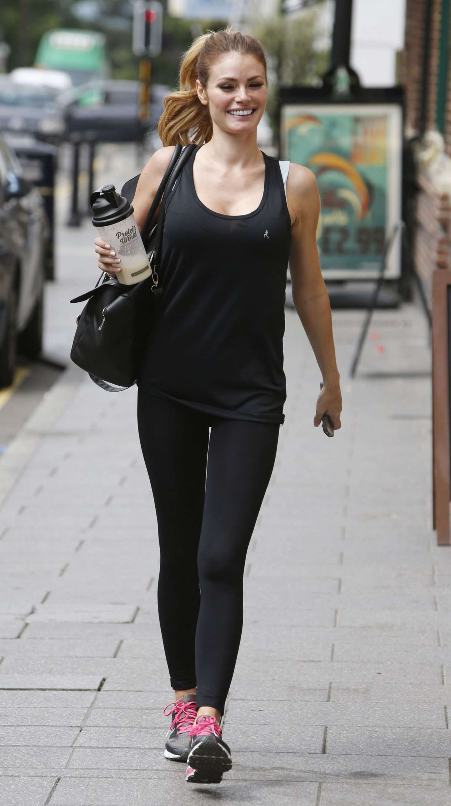 Chloe Sims Leaves a Gym in Essex-1