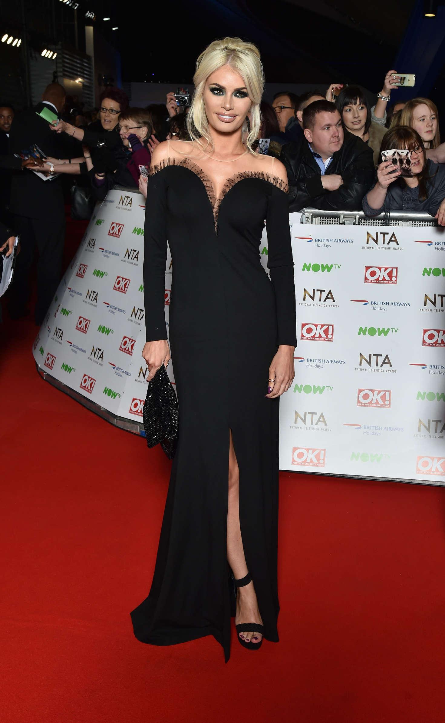 Chloe Sims National Television Awards in London