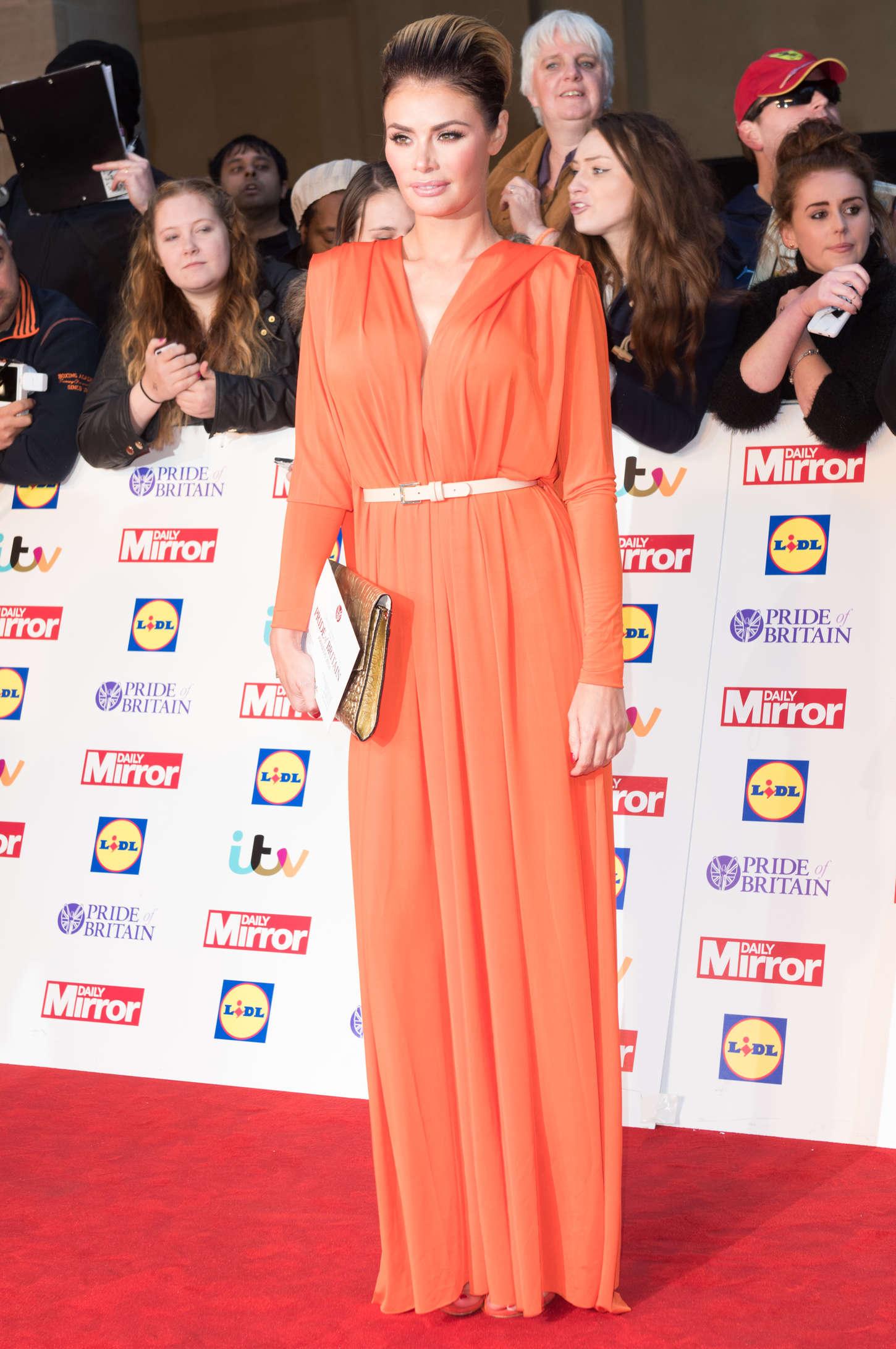 Chloe Sims Pride of Britain Awards in London