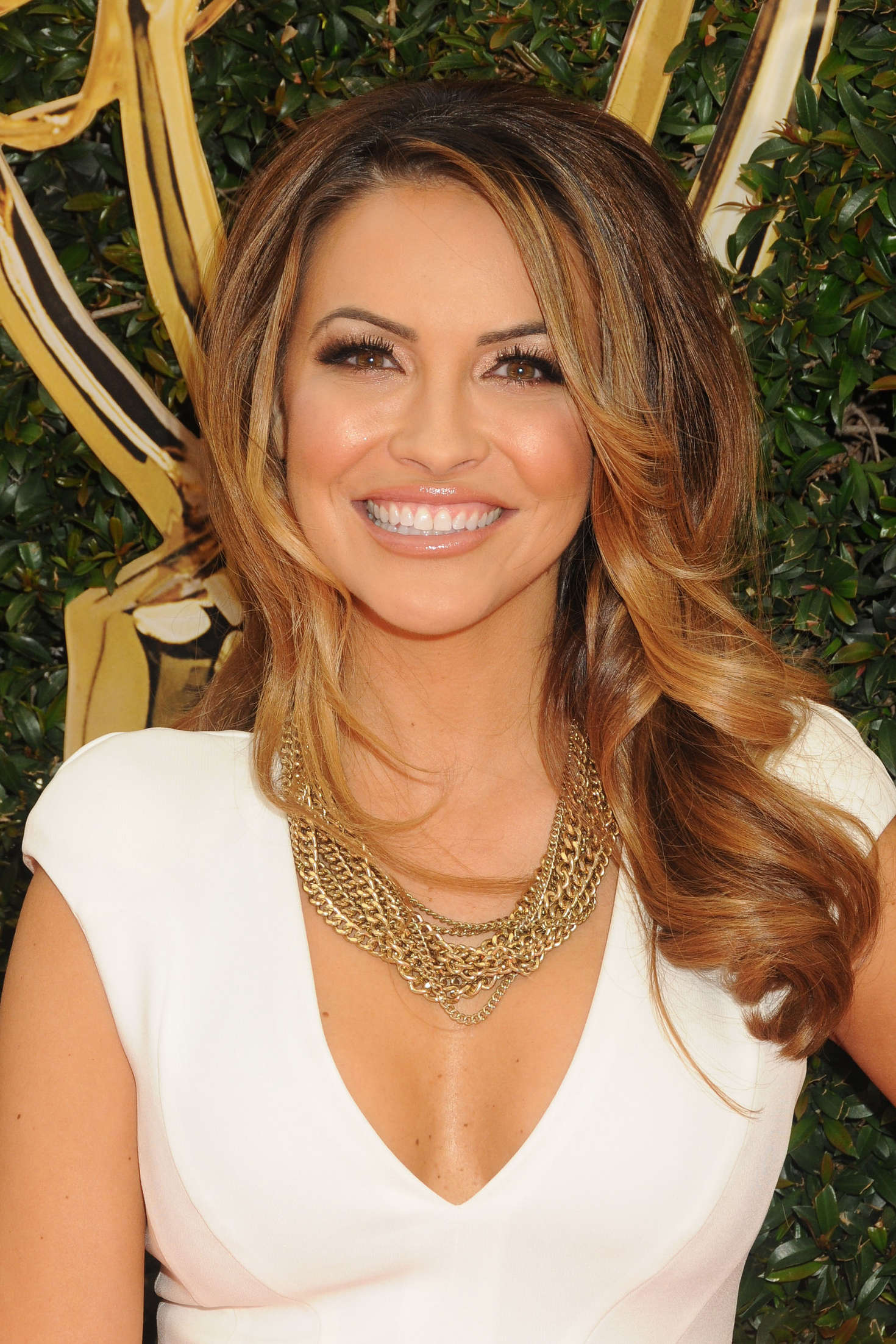 Chrishell Stause Daytime Emmy Awards in Los Angeles