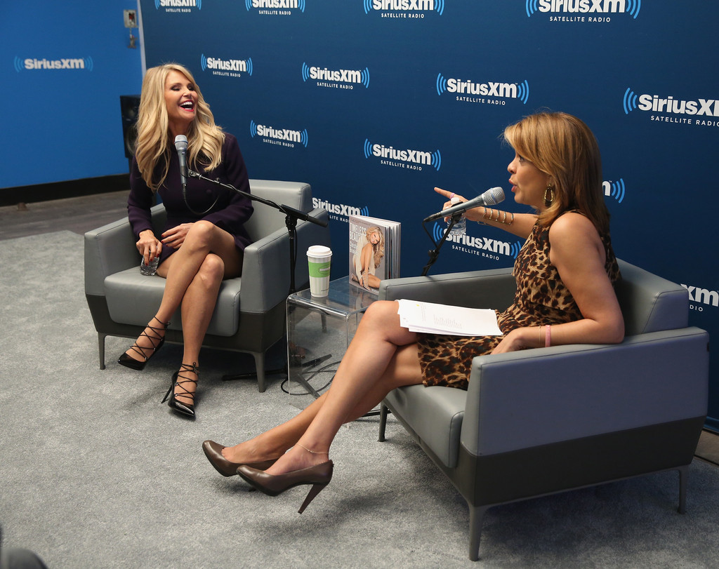 Christie Brinkley at SiriusXM Studios in New York