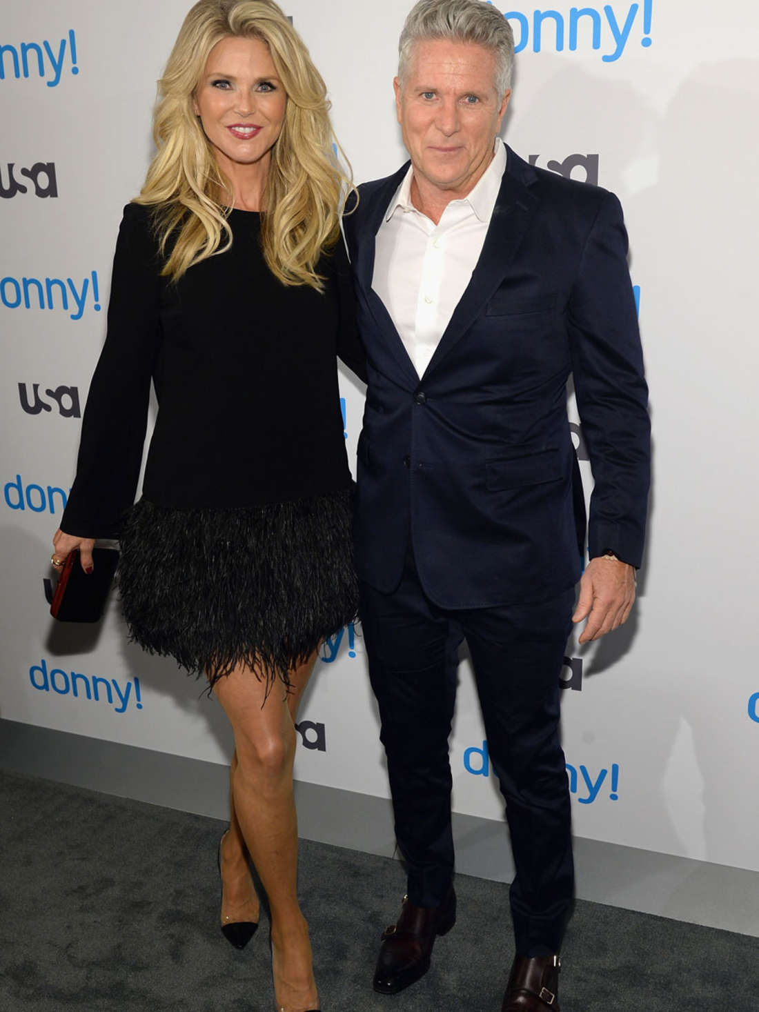 Christie Brinkley Donny! Premiere in New York City