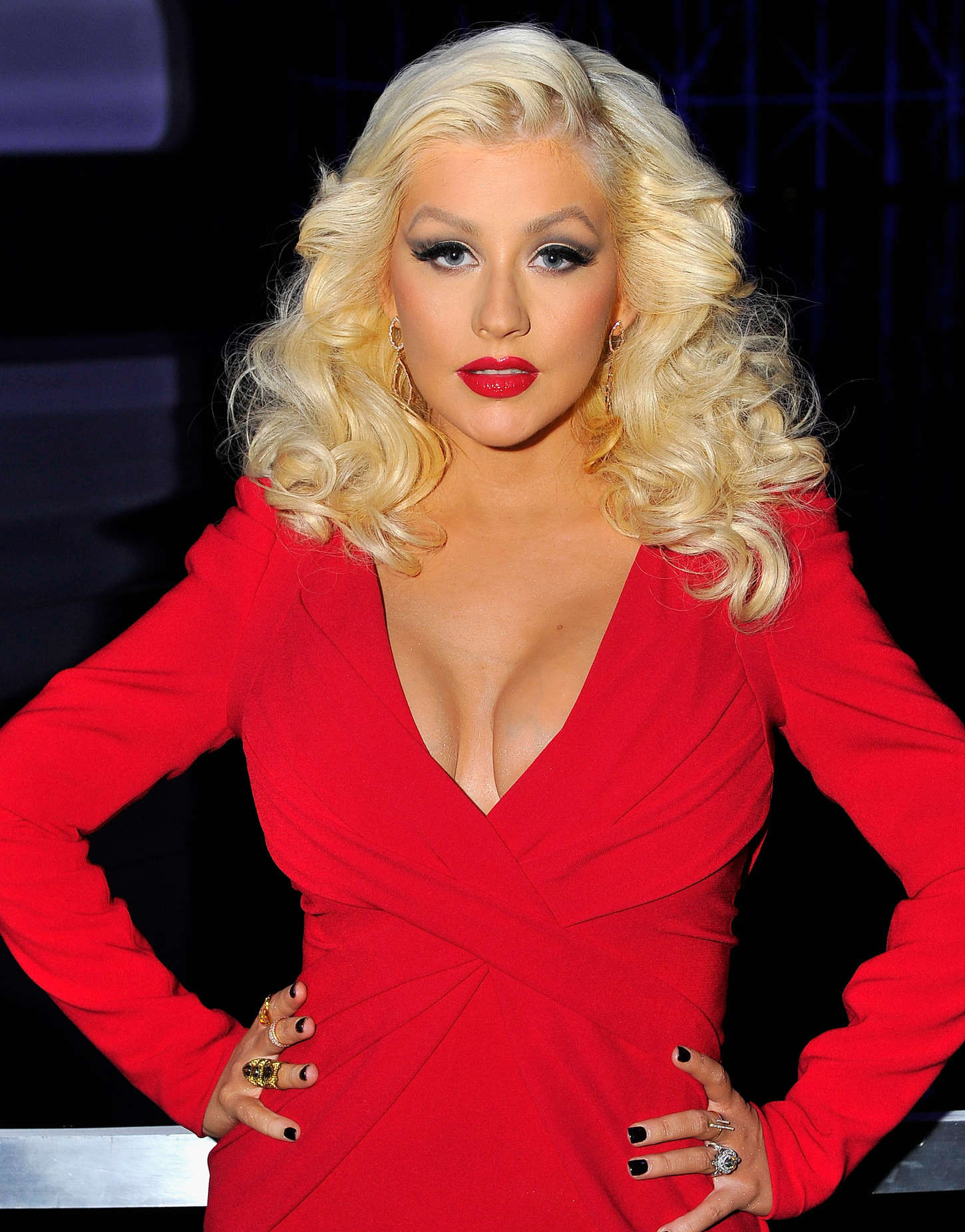 Christina Aguilera Breakthrough Prize Awards Ceremony in Mountain View