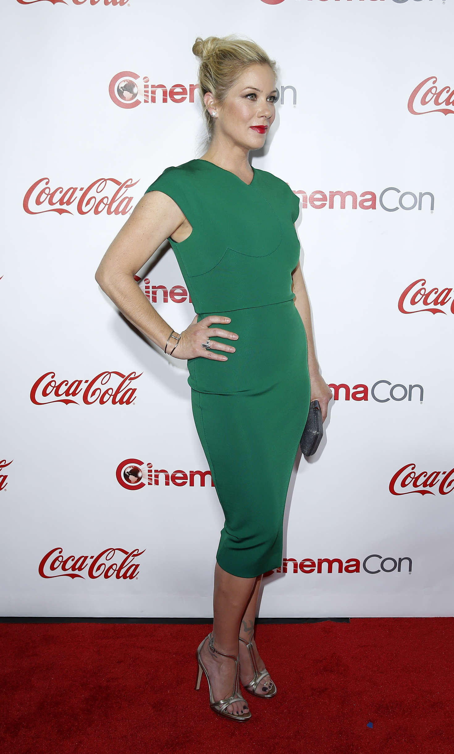 Christina Applegate Big Screen Achievement Awards at CinemaCon in Las Vegas