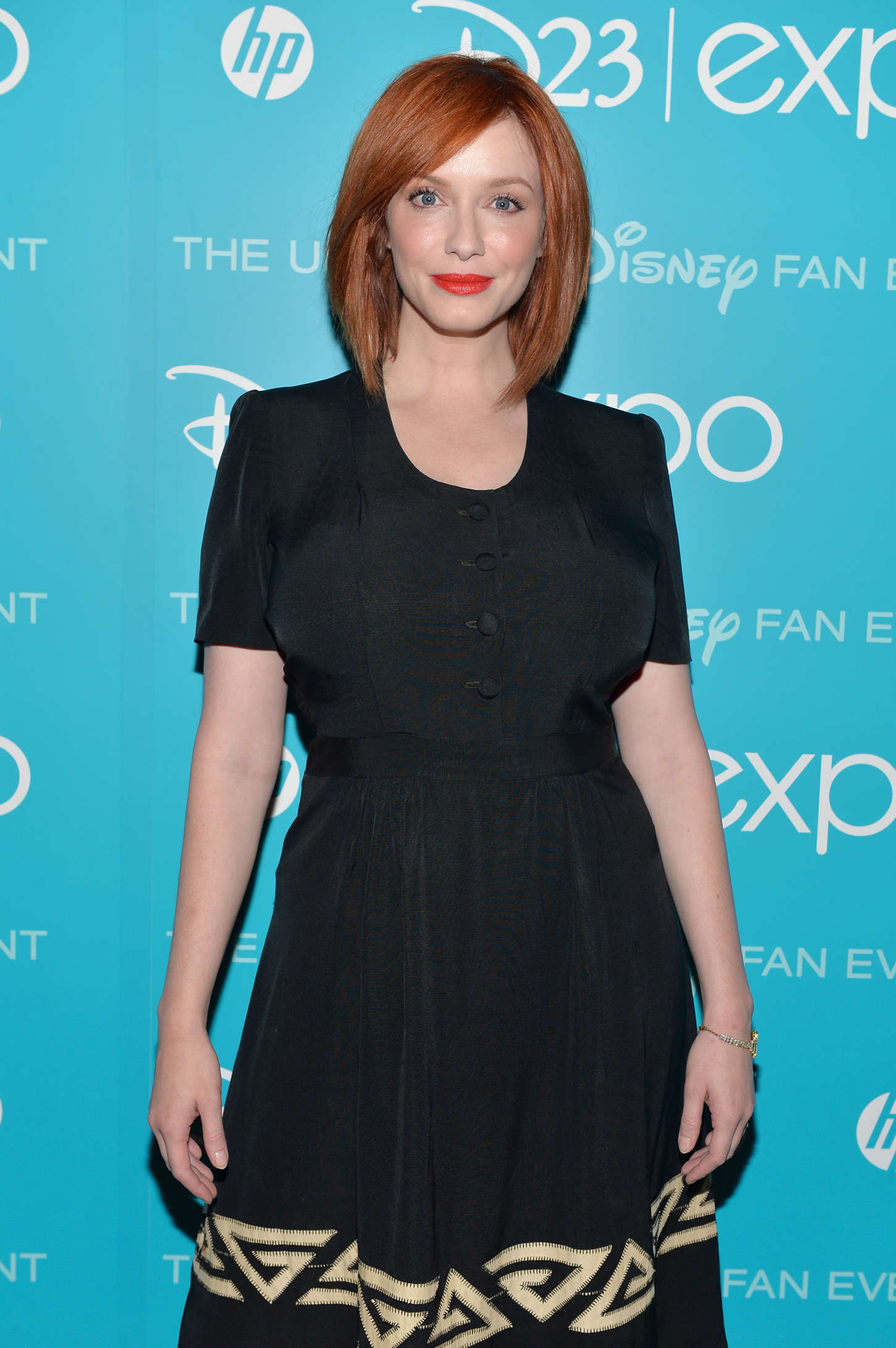 Christina Hendricks Disneys D23 Art and Imagination Expo in Anaheim