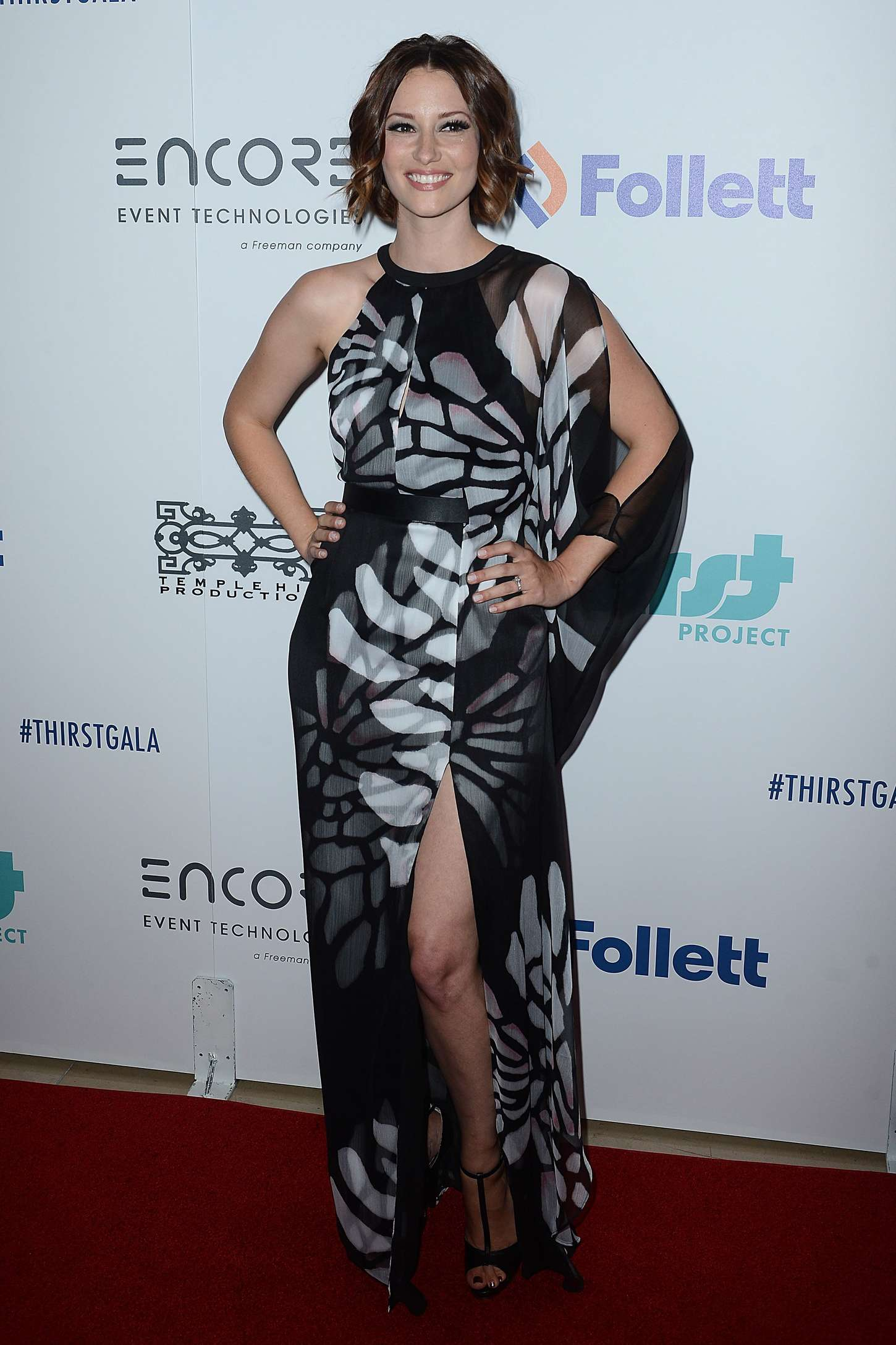 Chyler Leigh Annual Thirst Gala in Beverly Hills