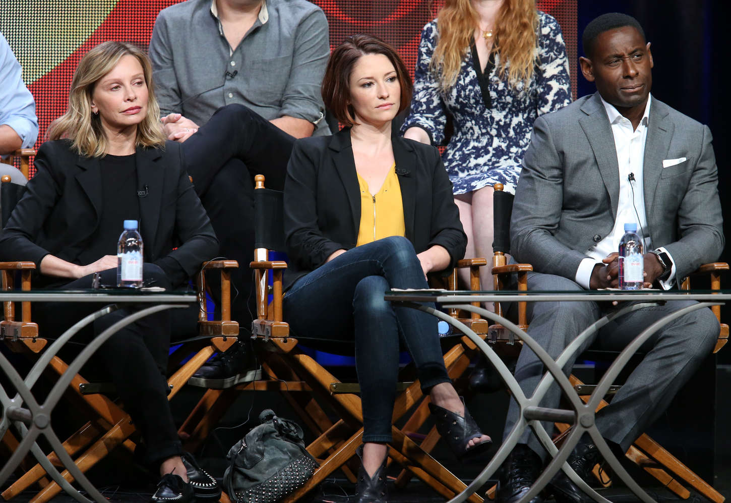 Chyler Leigh Supergirl Panel Summer TCA Tour in Beverly Hills