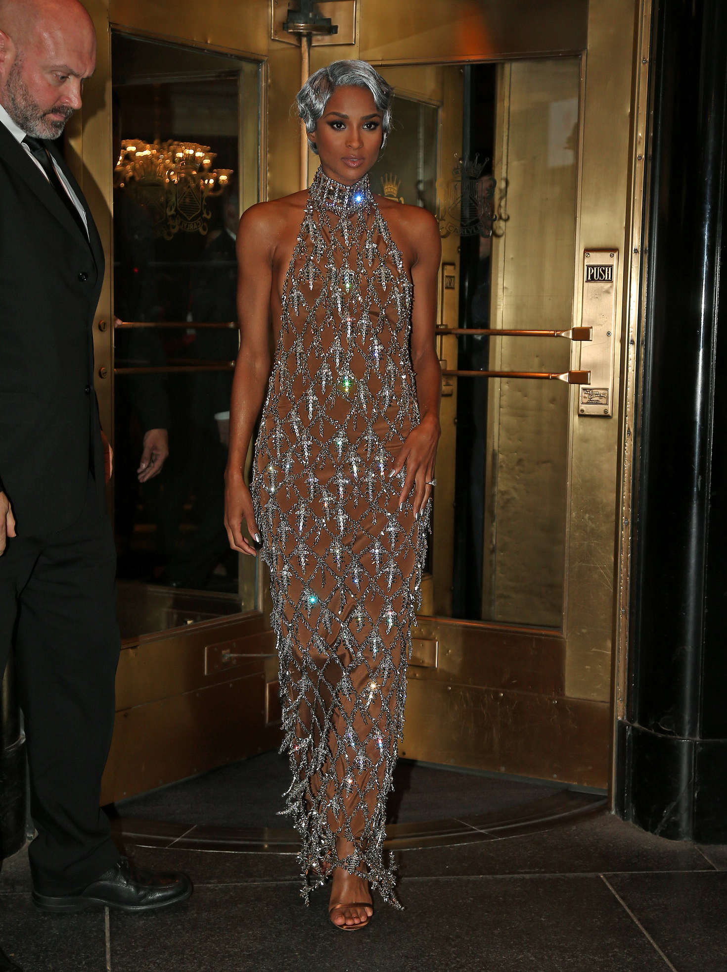 Ciara Leaves Her Hotel for The MET Gala in New York