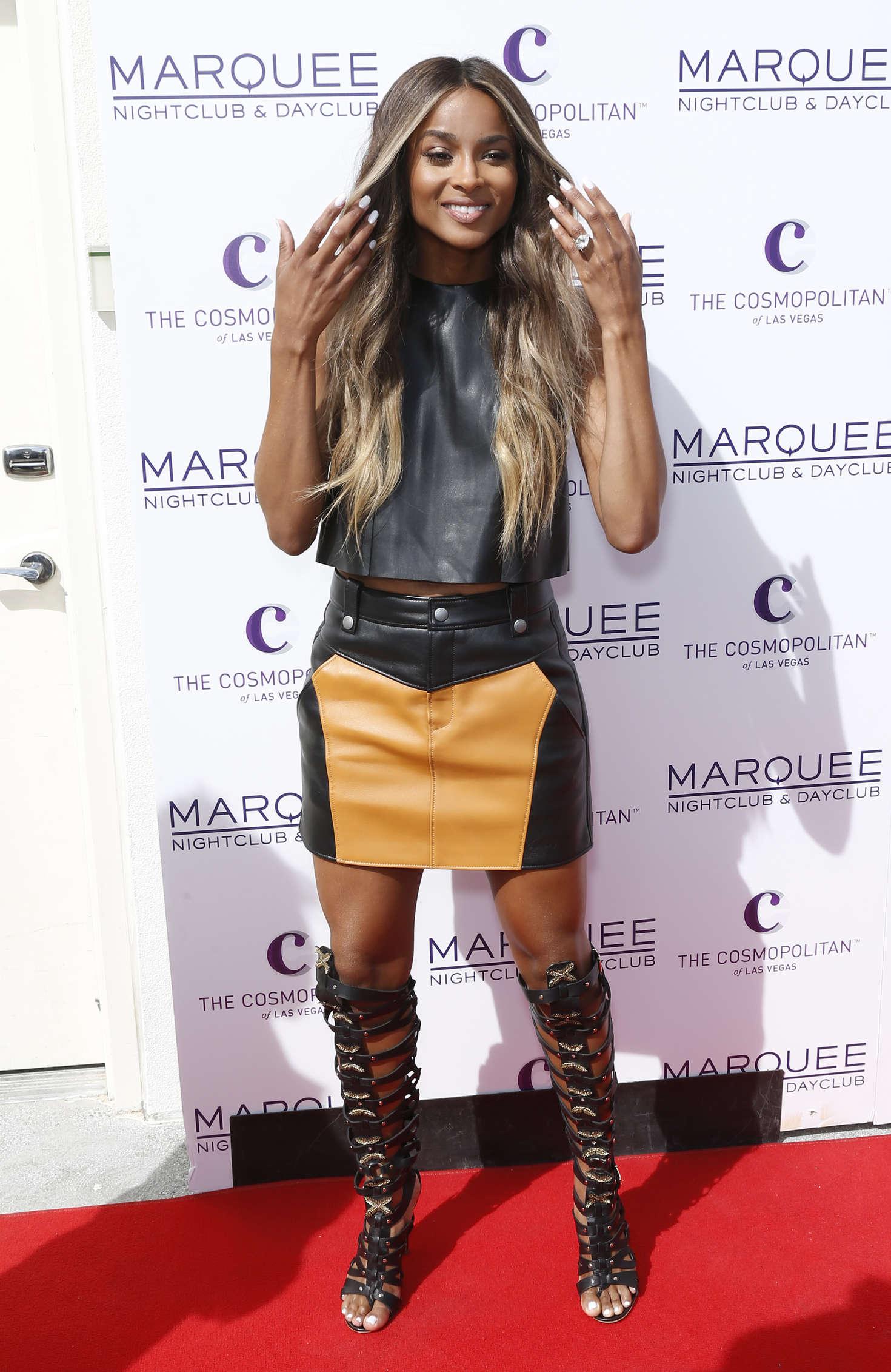Ciara Marquee Dayclub Season Grand Opening in Las Vegas