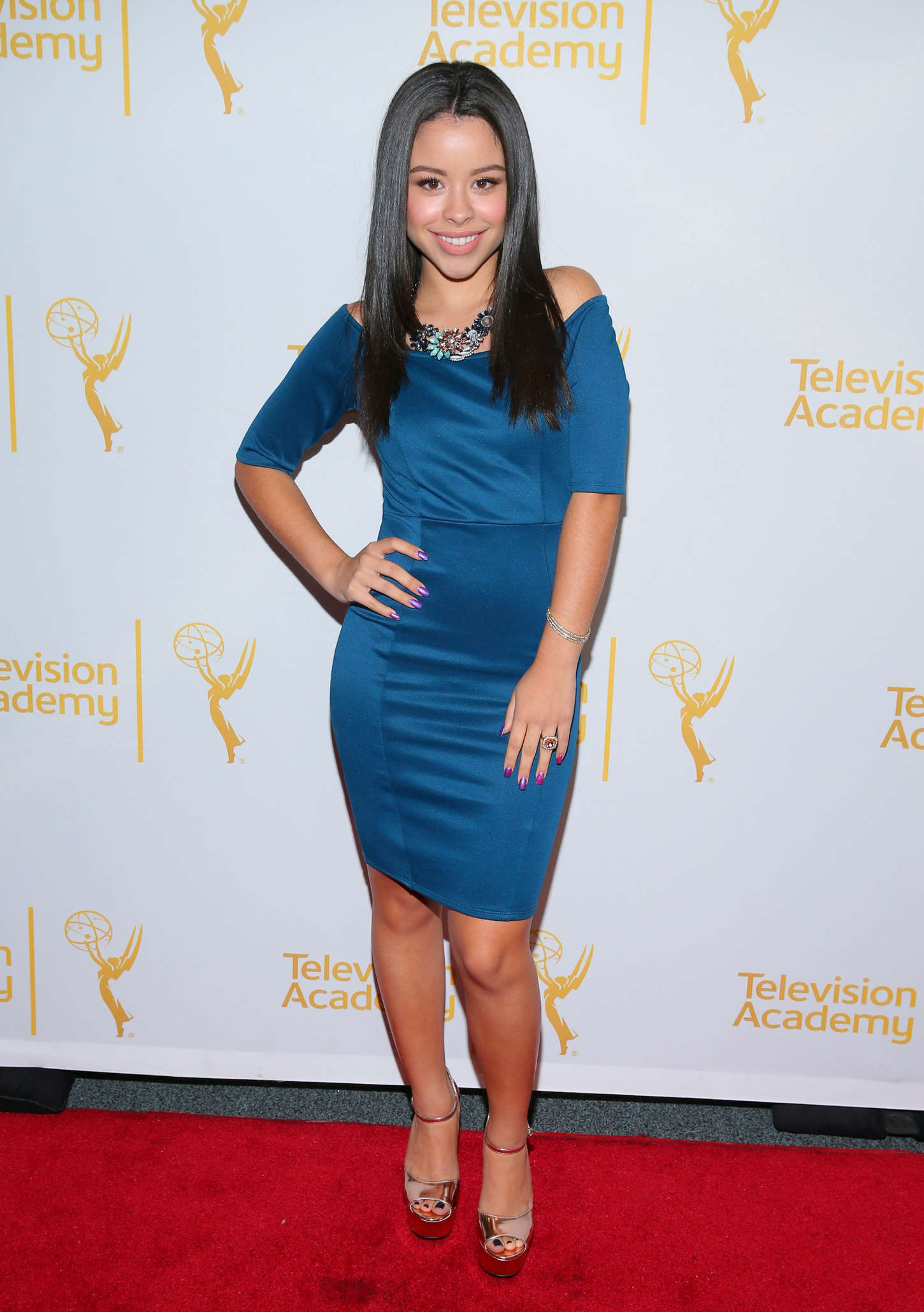 Cierra Ramirez Television Academy Presents An Evening With The Fosters in North Hollywood