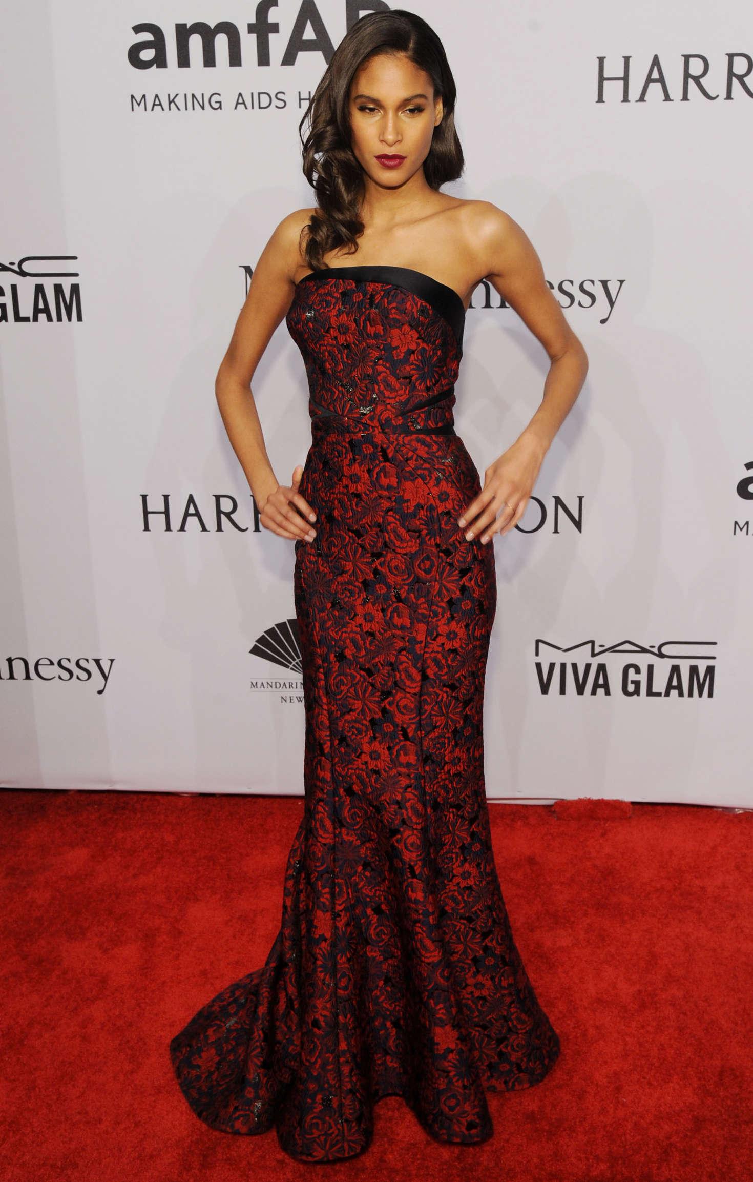Cindy Bruna amfAR New York Gala in New York
