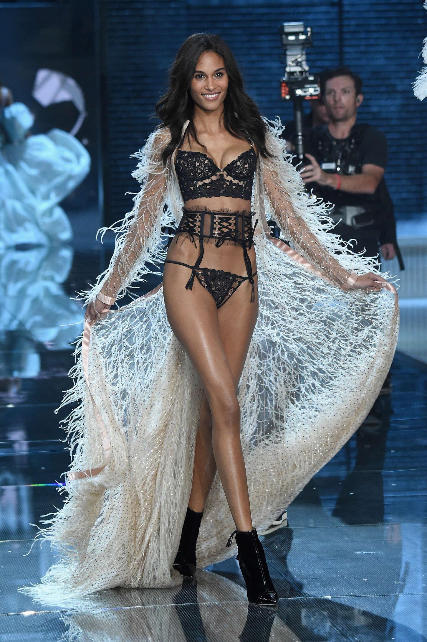 Cindy Bruna Victorias Secret Fashion Show Runway in New York