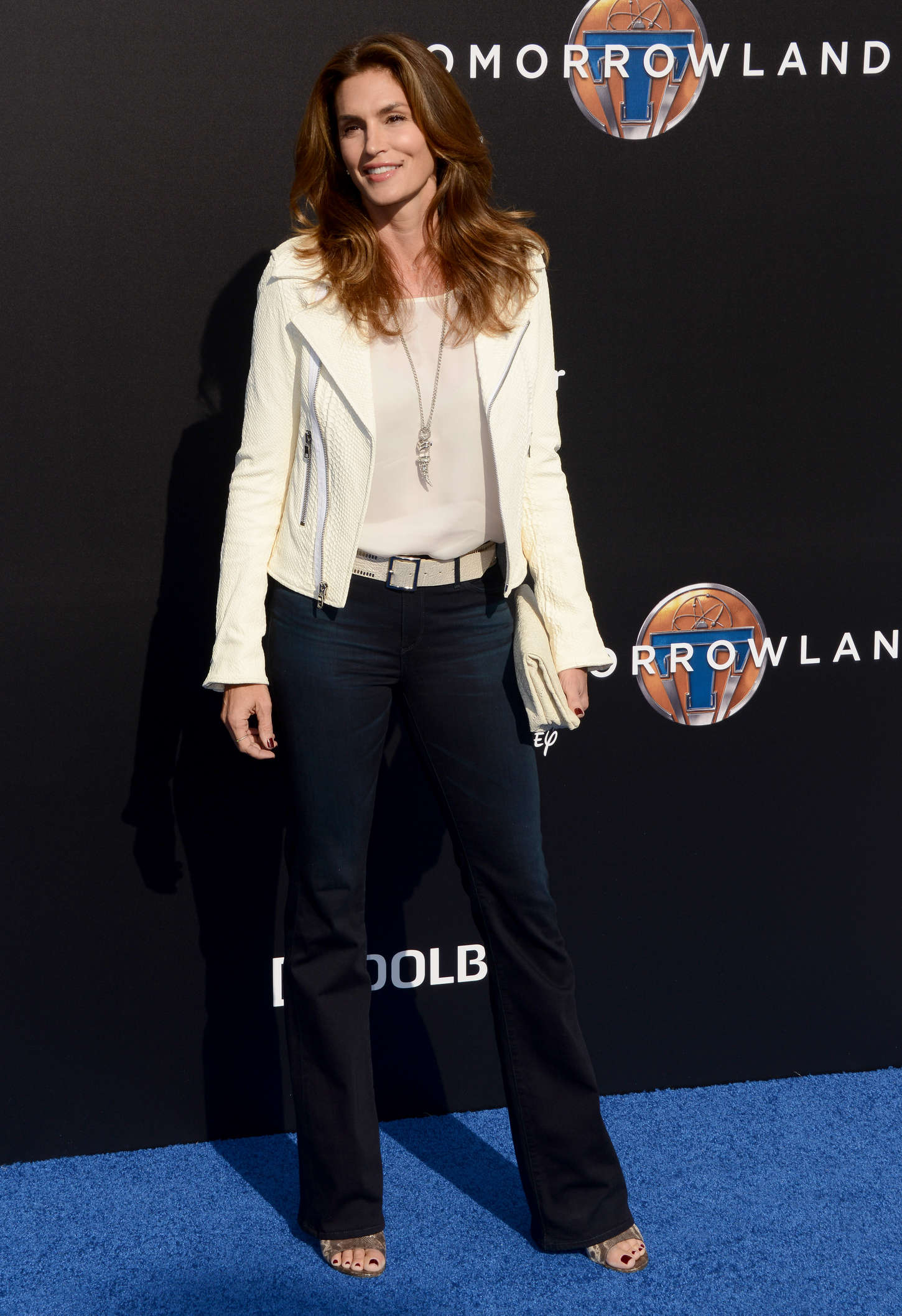 Cindy Crawford Tomorrowland Premiere in Anaheim