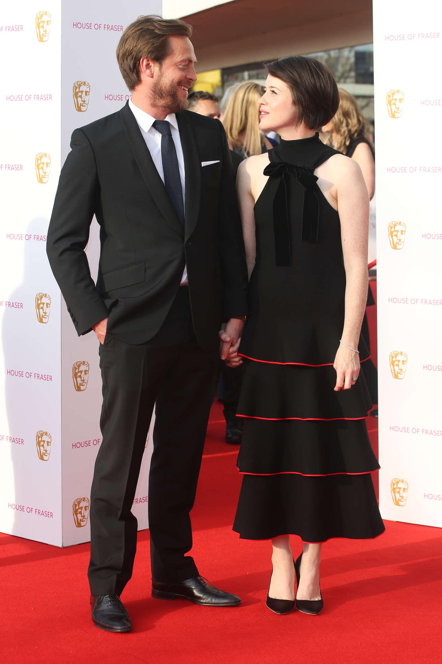 Claire Foy BAFTA TV Awards in London