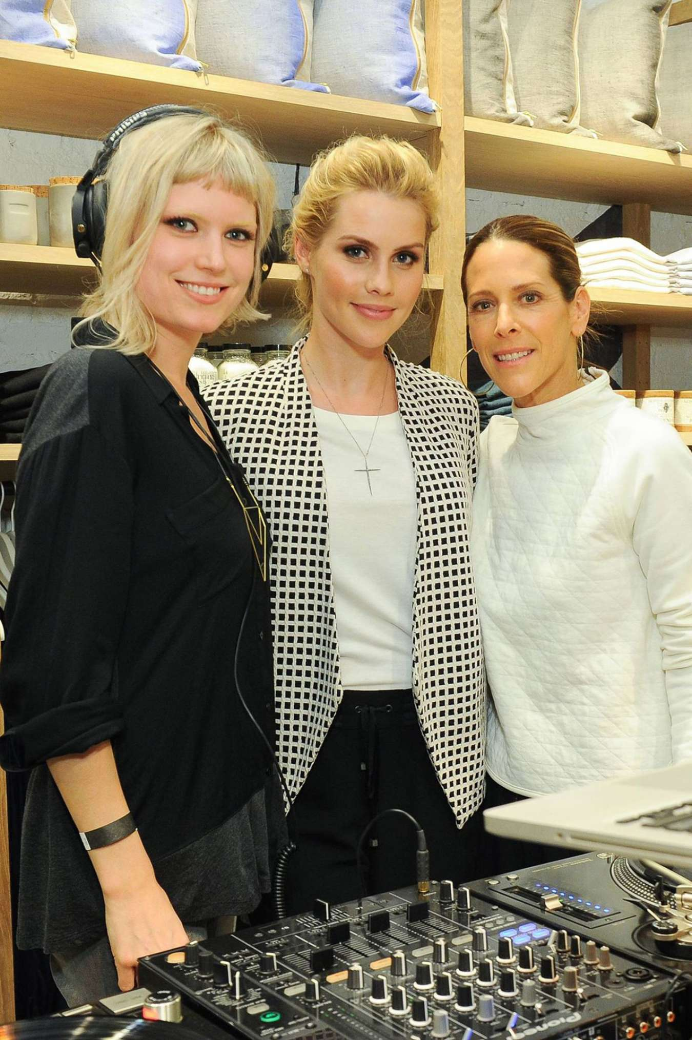 Claire Holt Lou Grey Store Opening in Pasadena