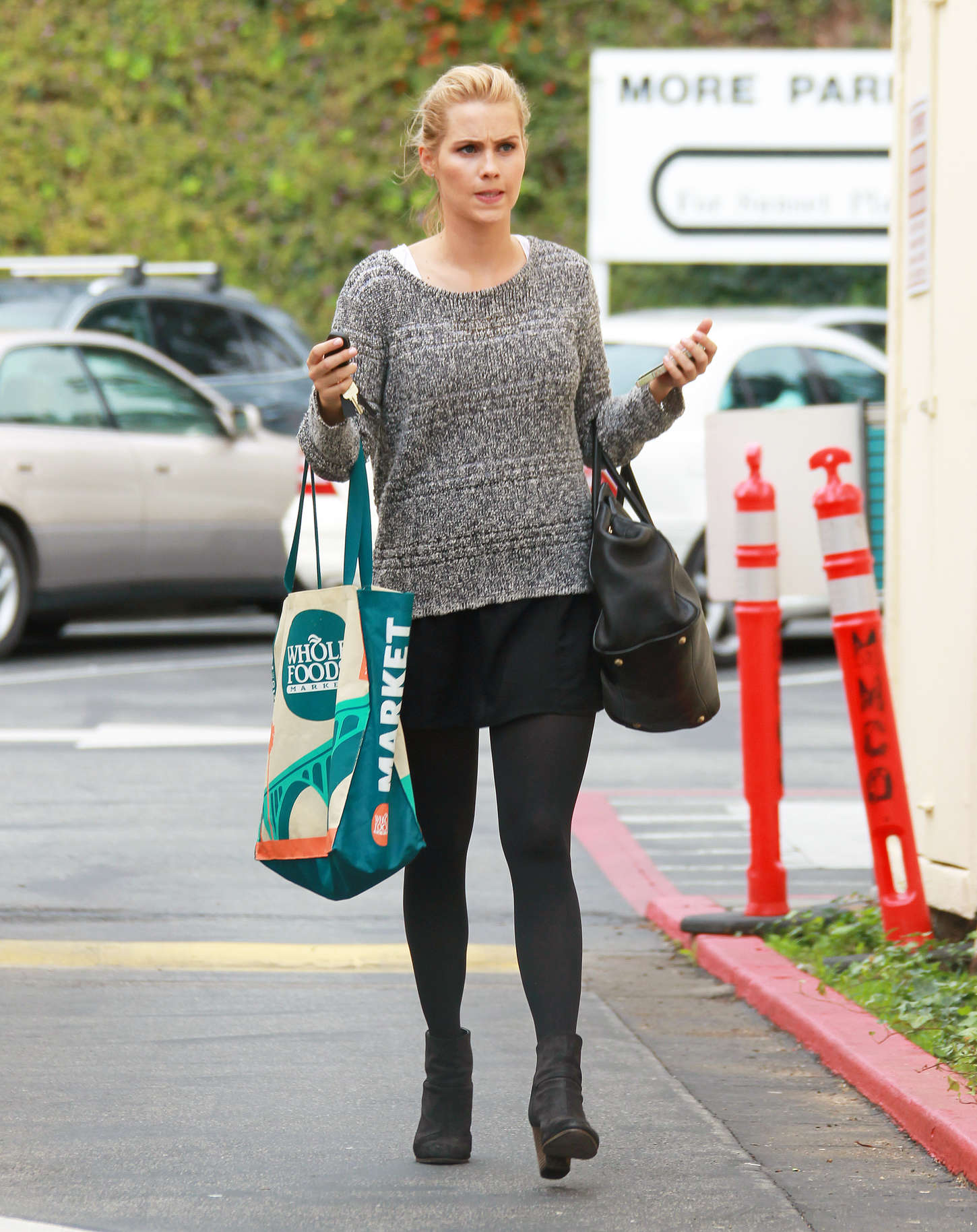 Claire Holt Street Style go out in West Hollywood