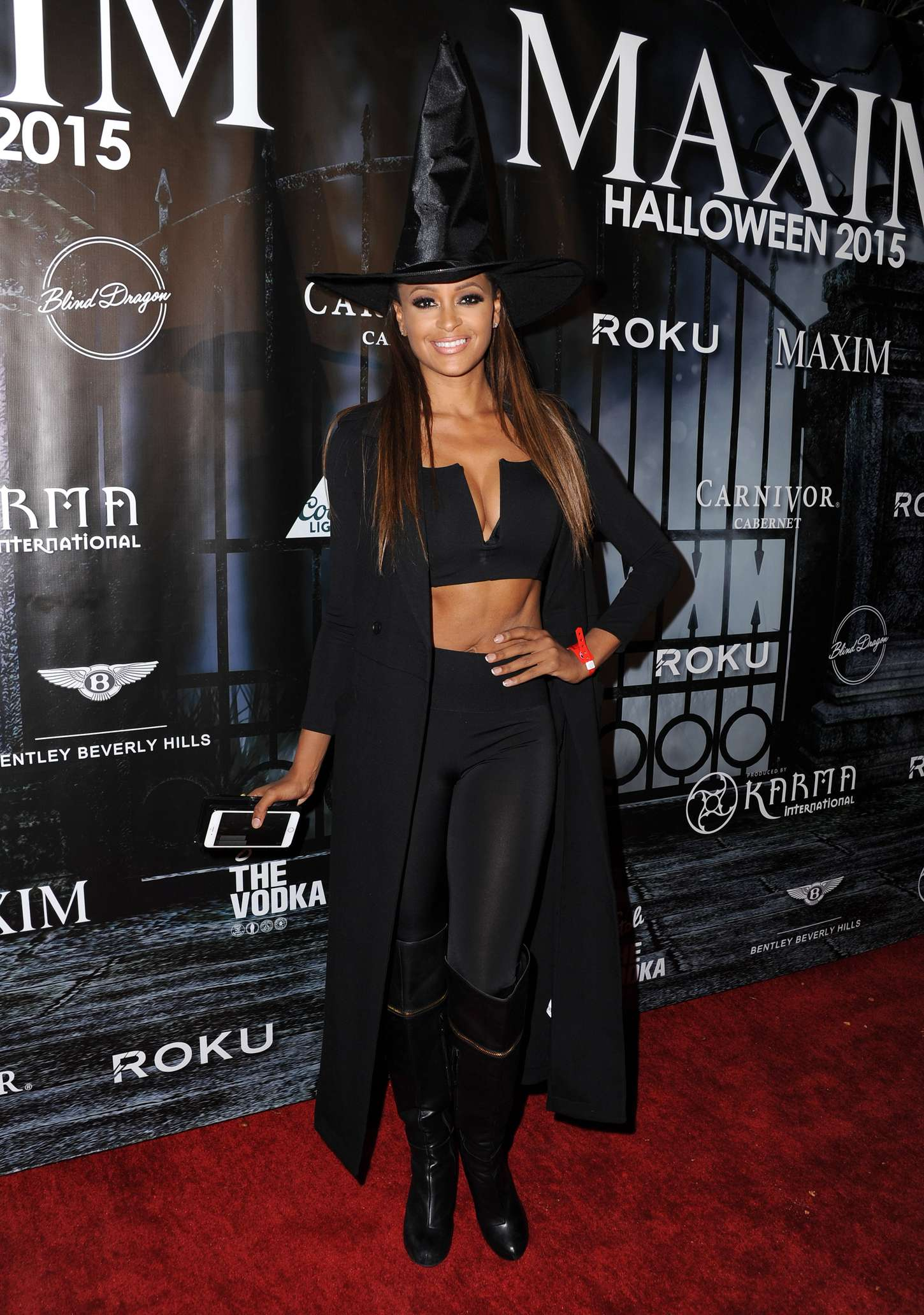 Claudia Jordan MAXIM Magazines Official Halloween Party in Beverly Hills