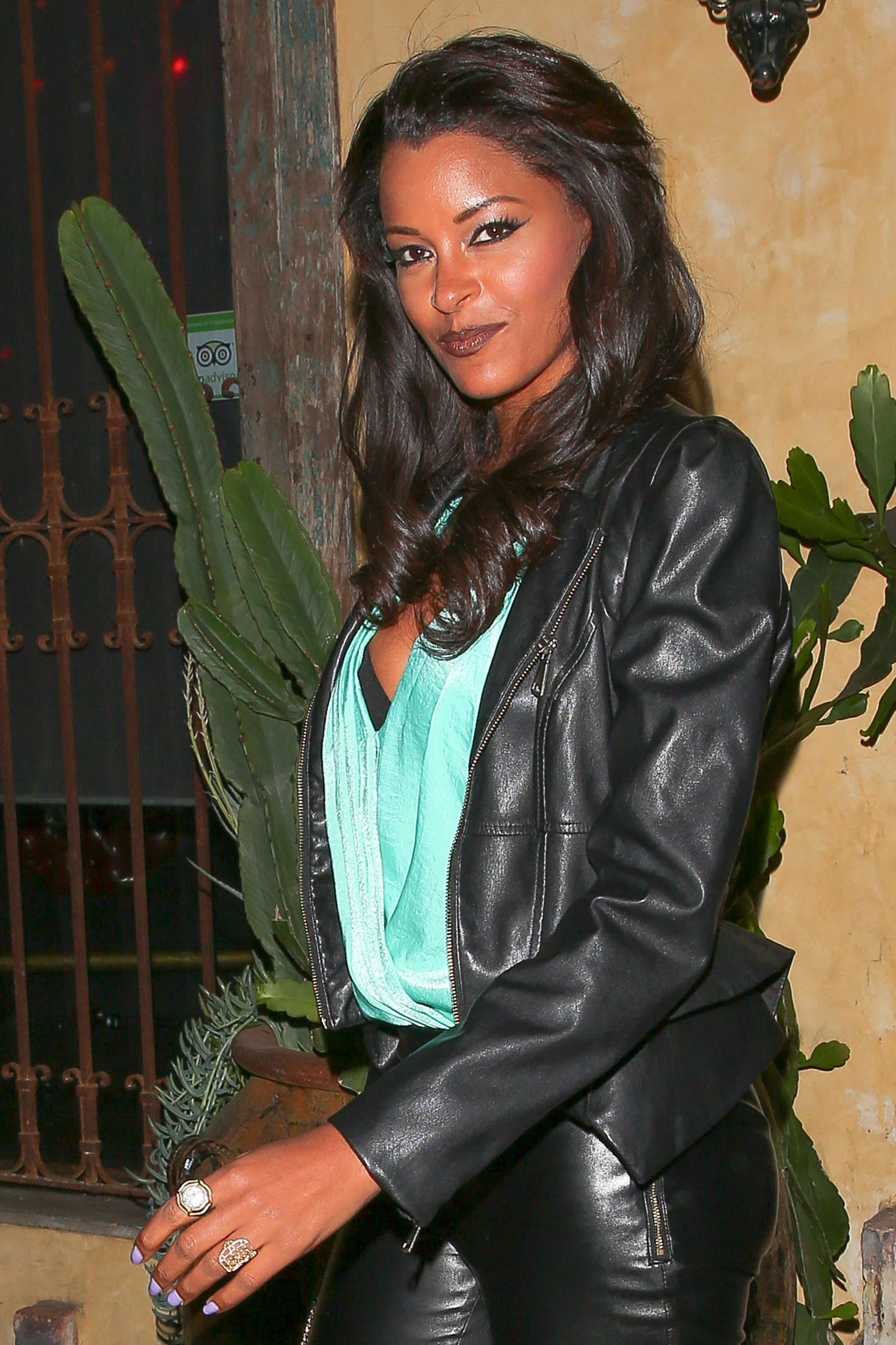 Claudia Jordan Snoop Doggs Vogue Dinner Party at El Compadre Restaurant in Hollywood