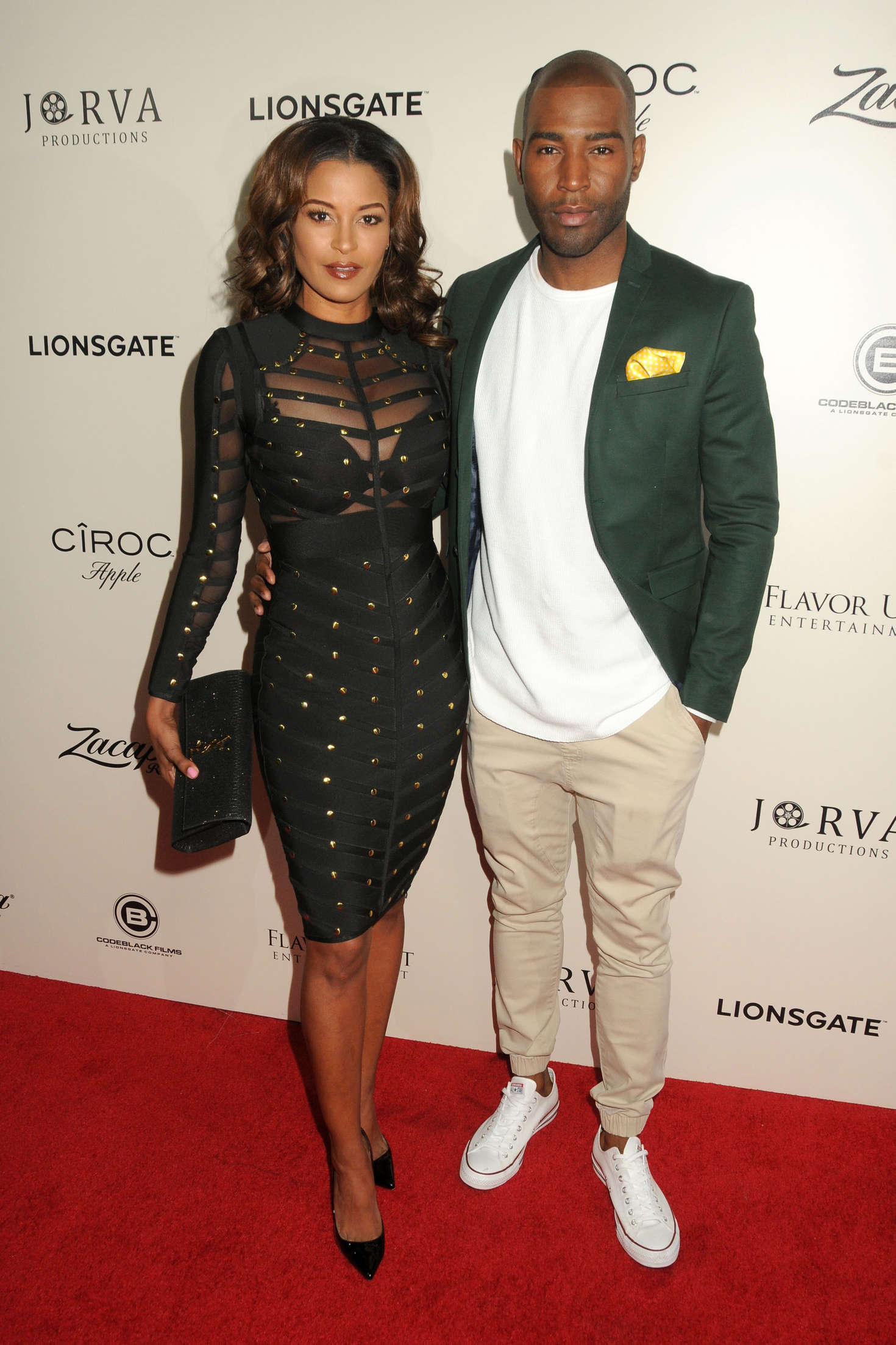 Claudia Jordan The Perfect Match Premiere in Los Angeles