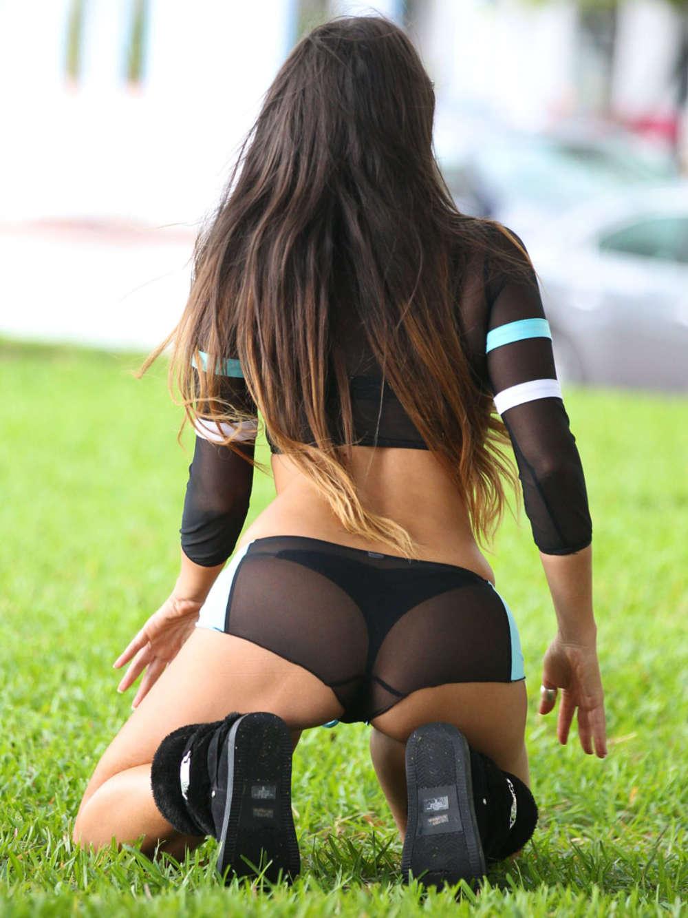 Claudia Romani Photoshoot in Miami
