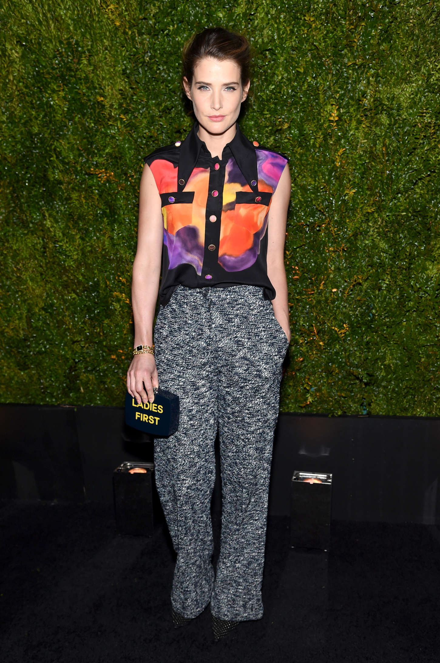 Cobie Smulders Chanel Dinner in New York