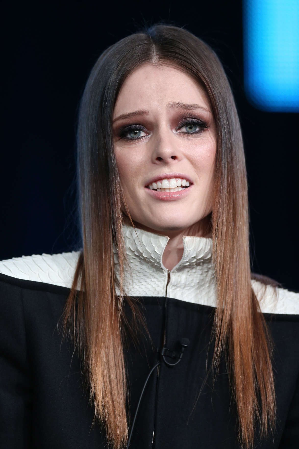 Coco Rocha NBC Universal TCA Winter Press Tour Pasadena