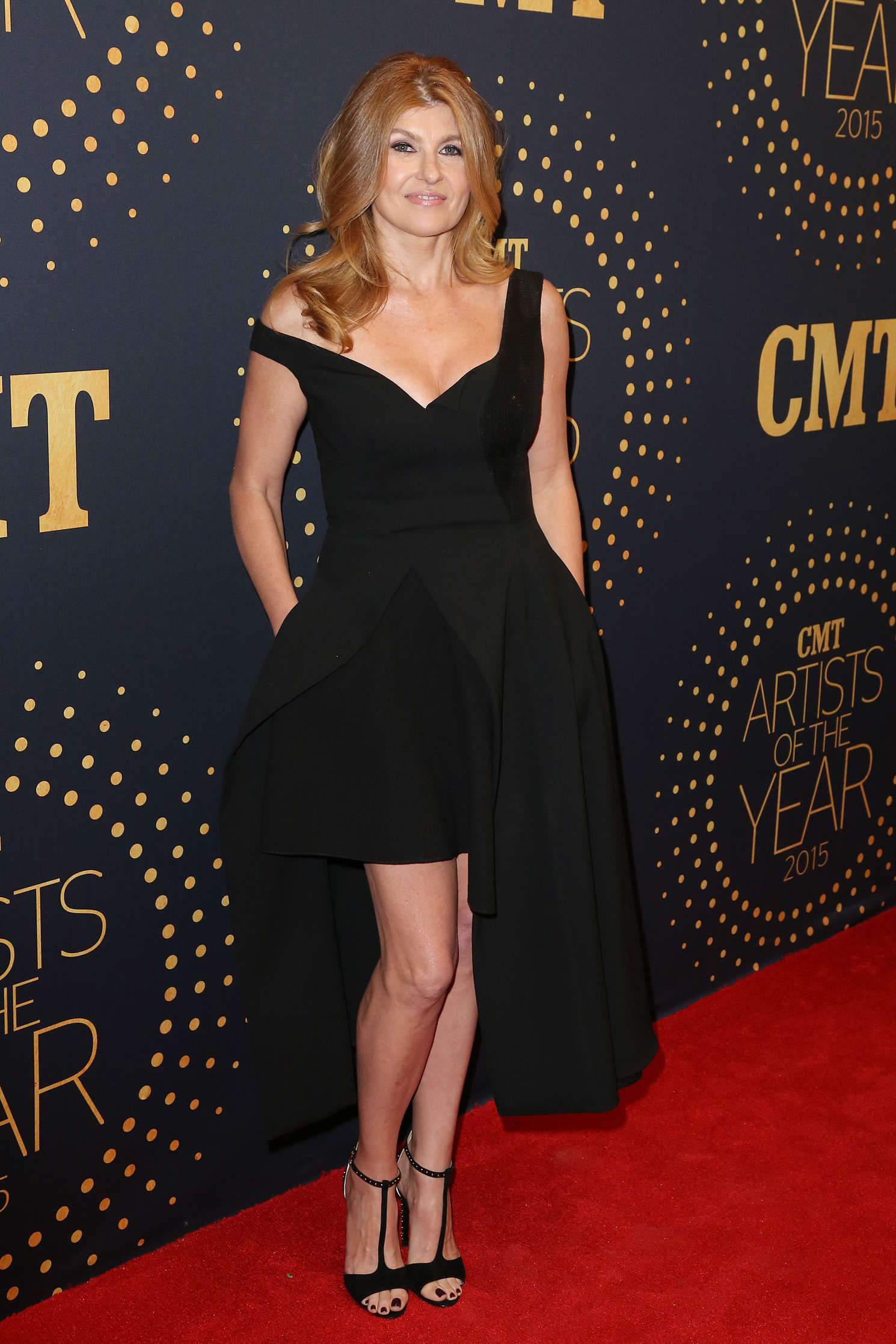 Connie Britton CMT Artists of the Year in Nashville