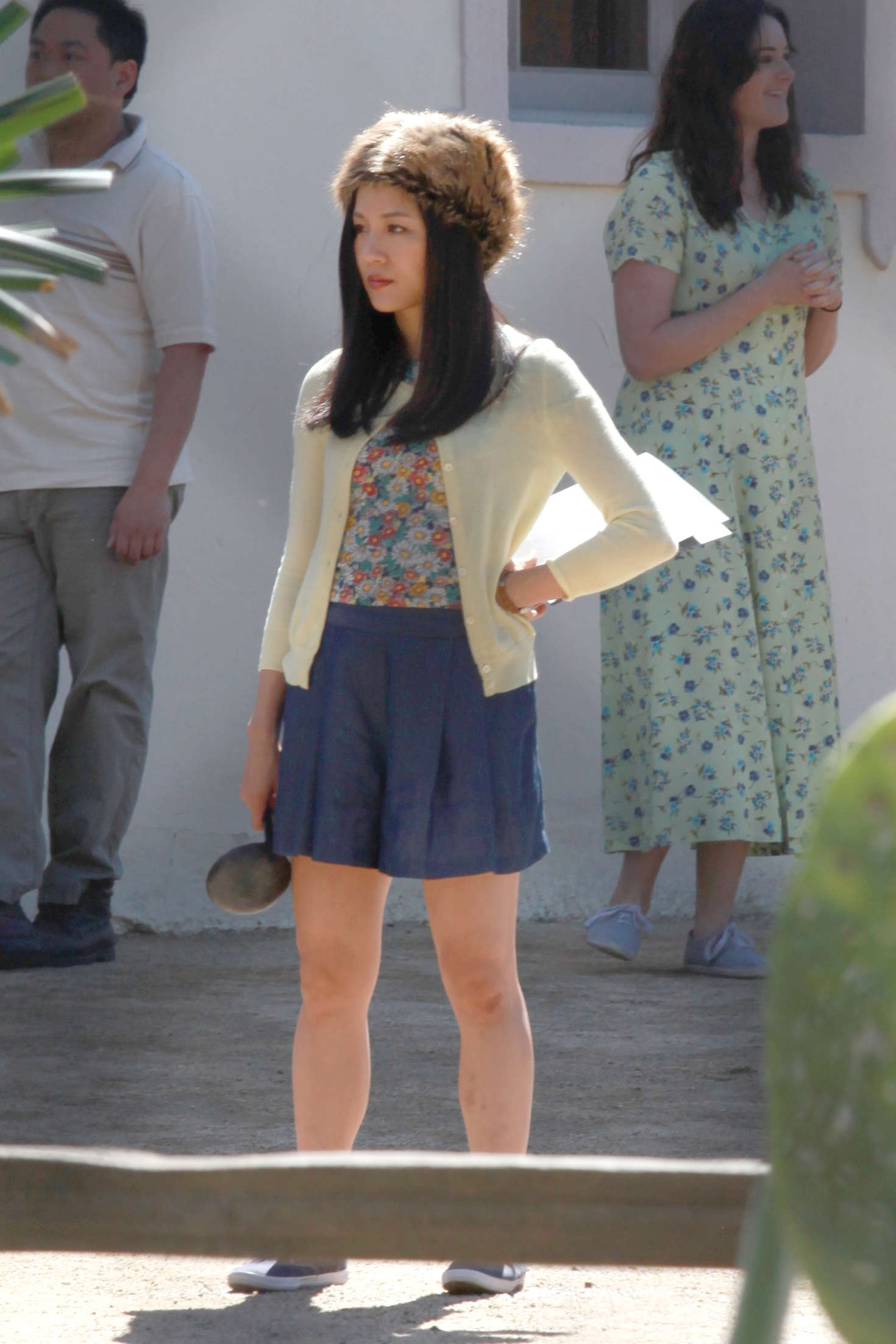 Constance Wu On the set of Fresh Off The Boat in Los Angeles