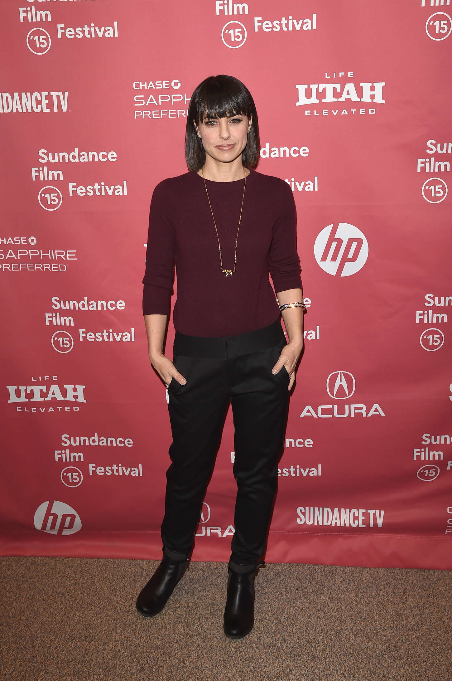 Constance Zimmer Results Premiere in Park City