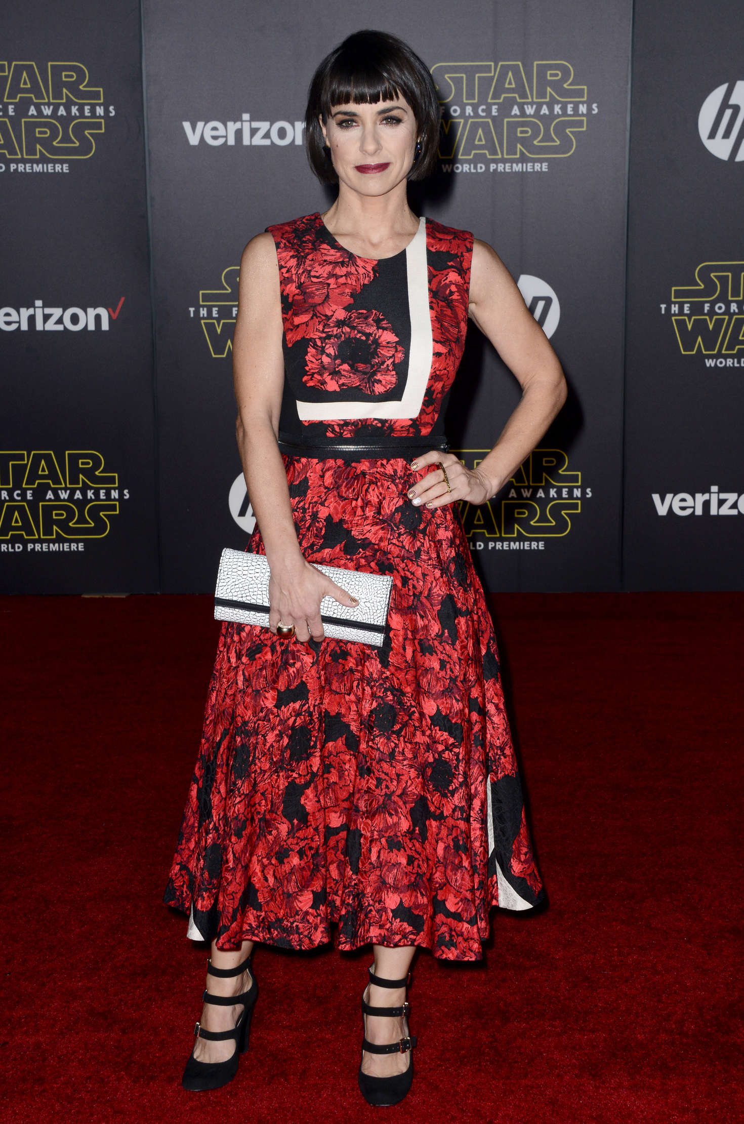 Constance Zimmer Star Wars The Force Awakens Premiere in Hollywood